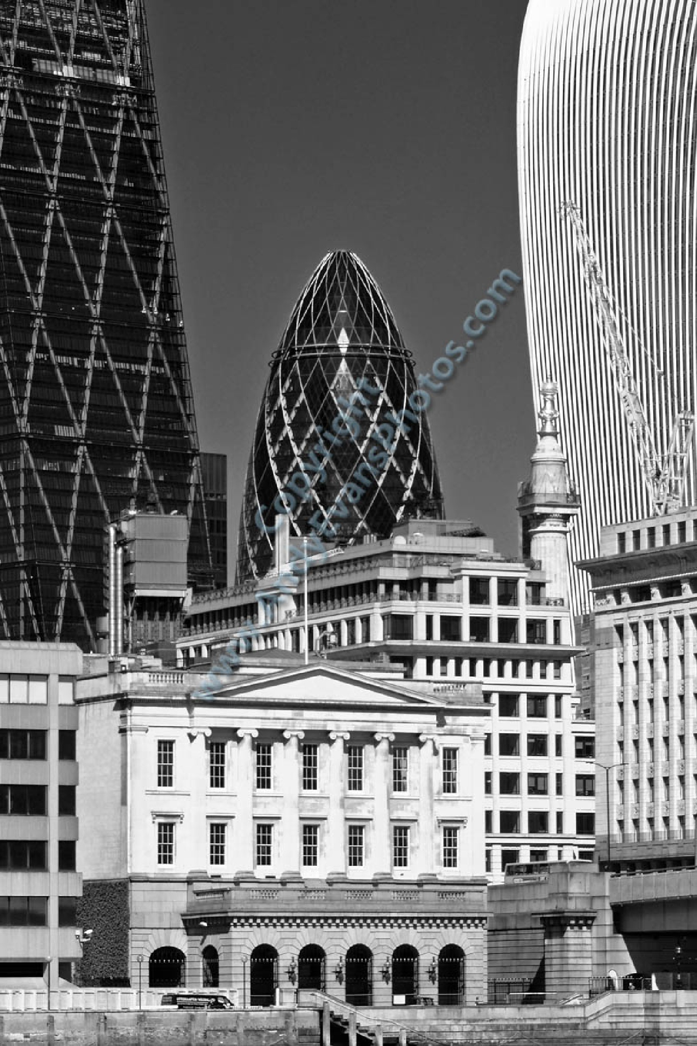 30 St Mary Axe, The Gherkin, City of London, England by AndyEvans