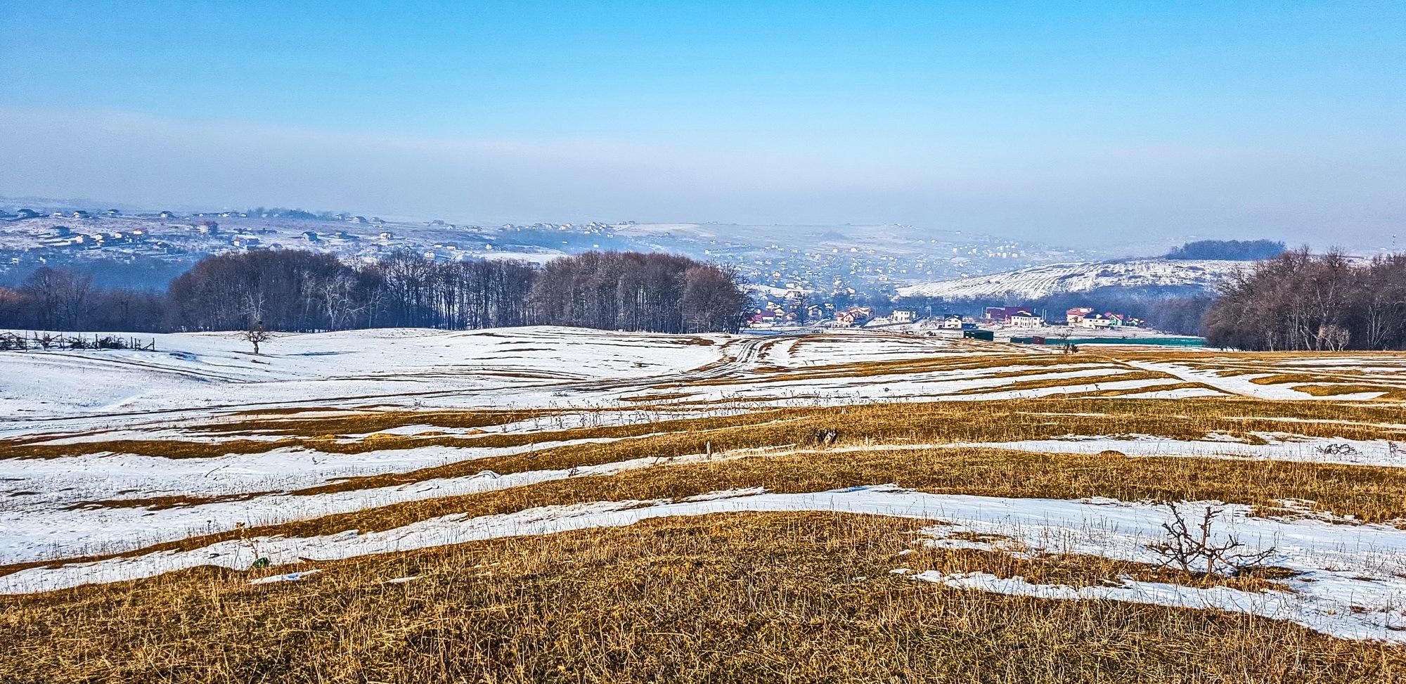 Road from Barnova Hill  by EnacheArmandIustinian