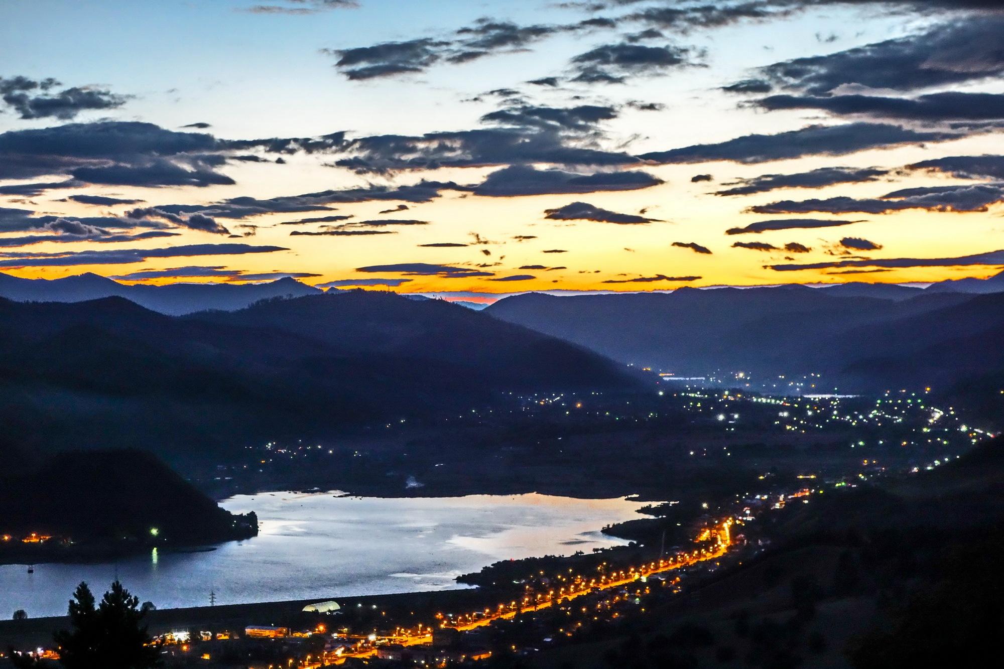 Lake Batca Doamnei & 2 Villages:  Bistrita and Viisoara  by EnacheArmandIustinian