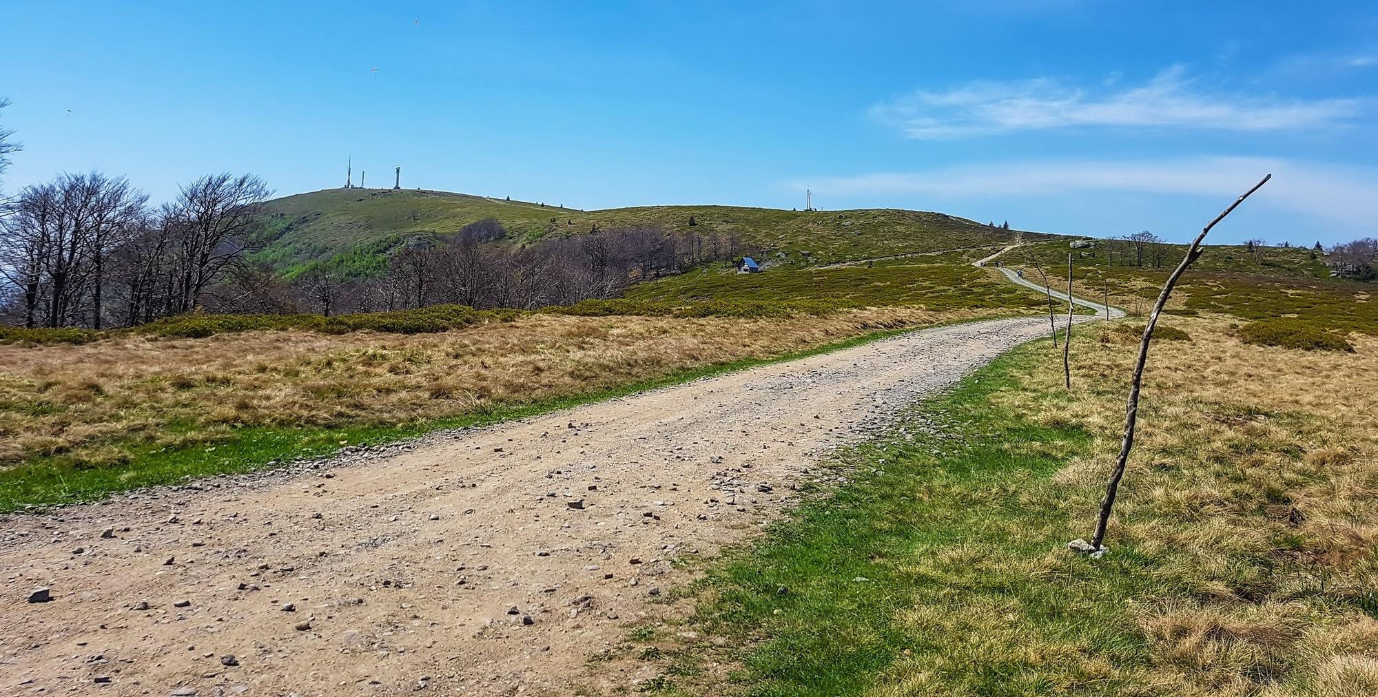 Winding road to the top  by EnacheArmandIustinian