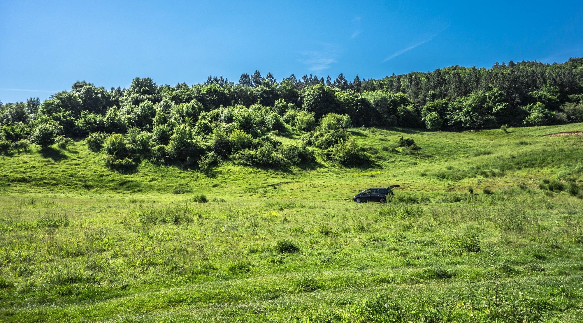 Ford Galaxy and Green zone by EnacheArmandIustinian