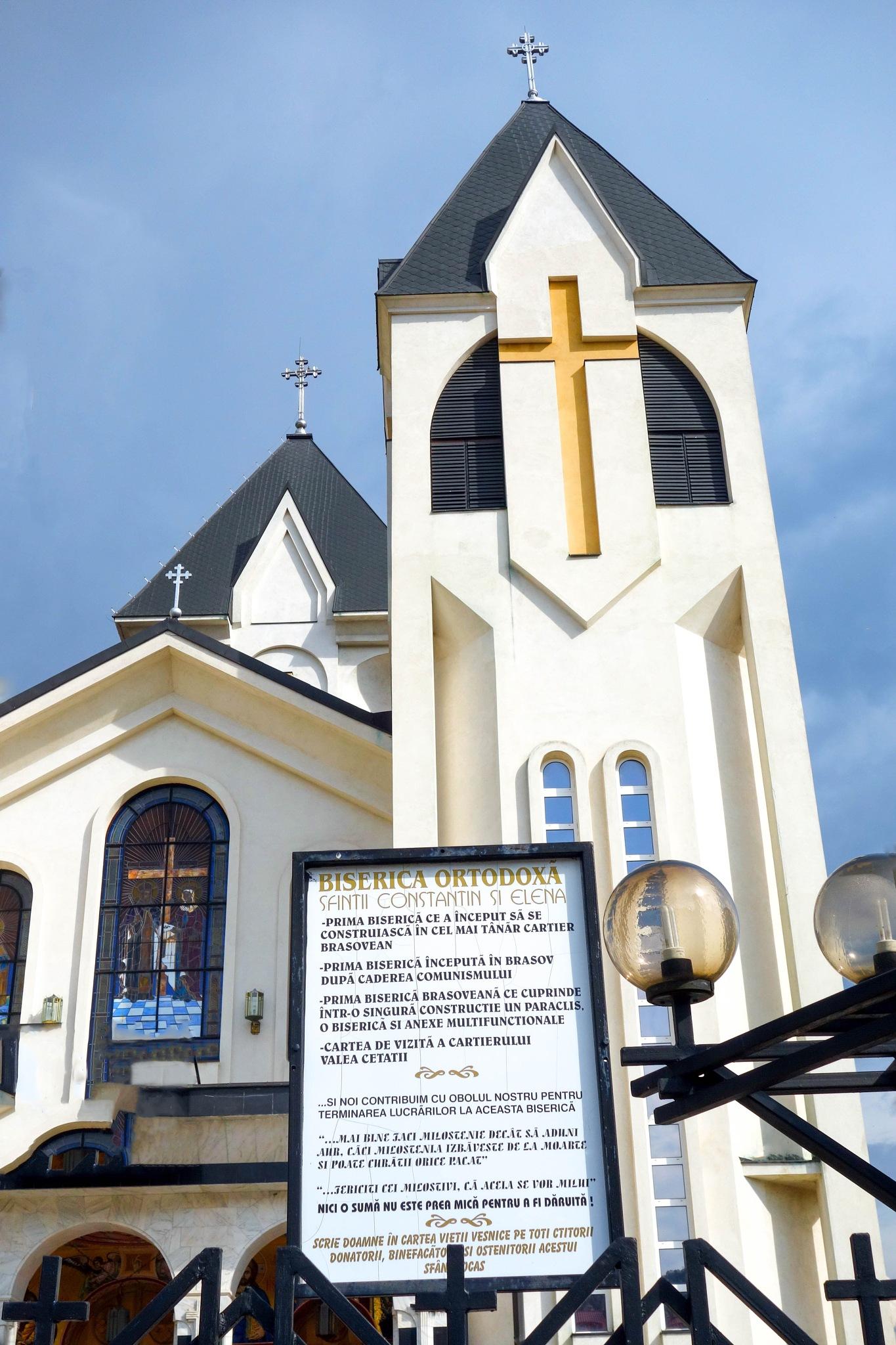 From Brasov - New Church  by EnacheArmandIustinian