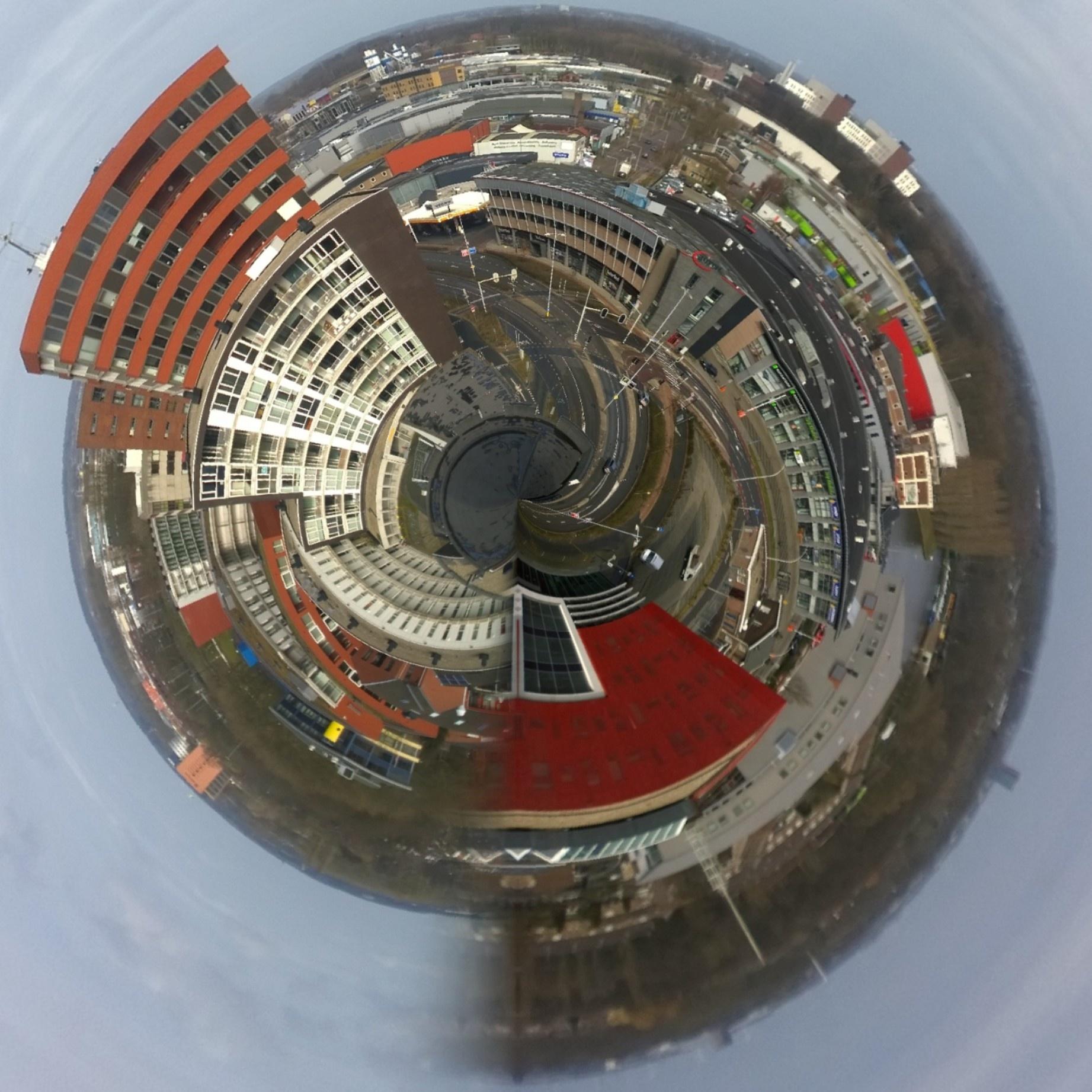 Dutch city Amersfoort on the 8th floor by roggy.douglas