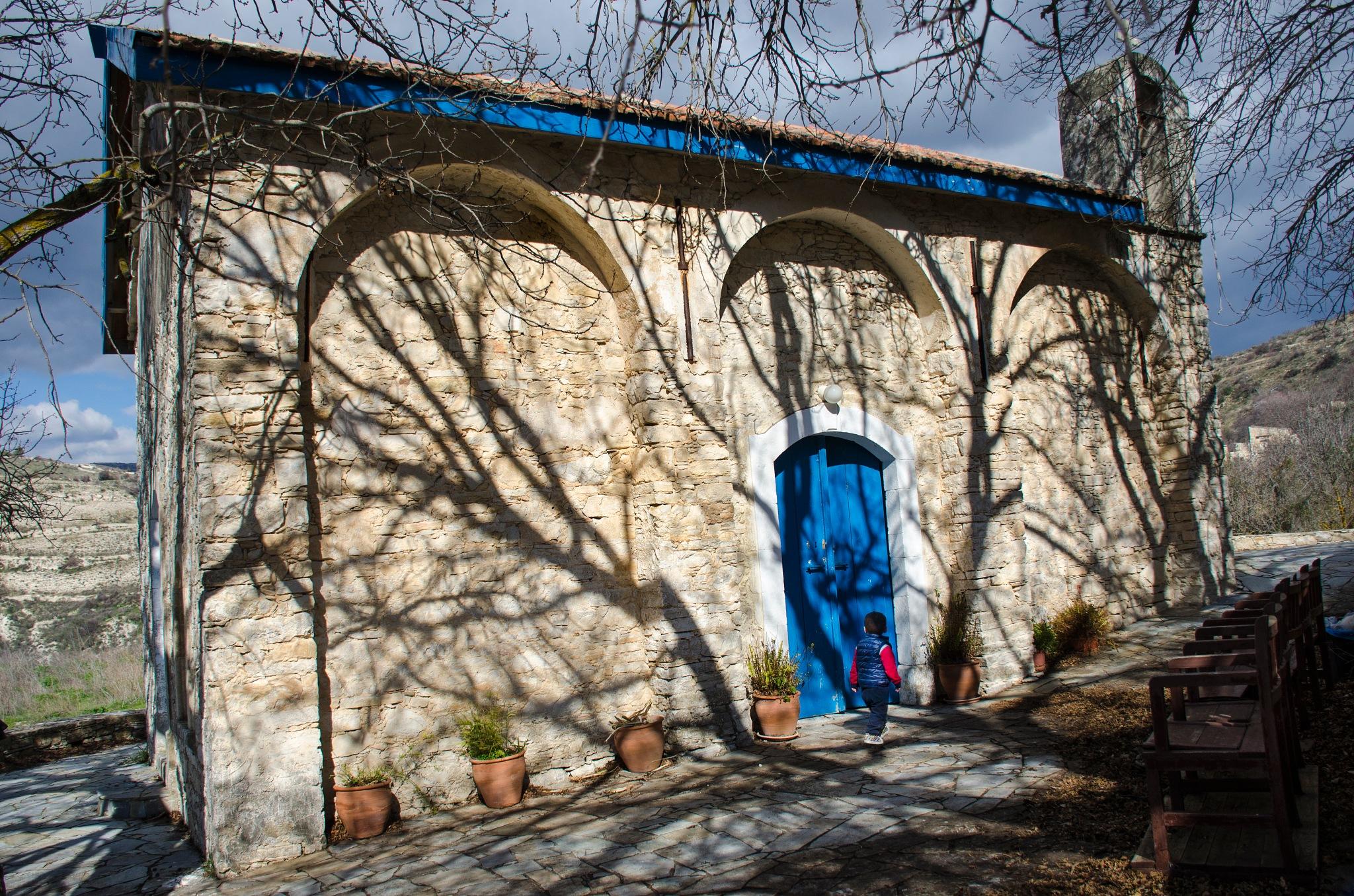 Blue by marokkyprianou