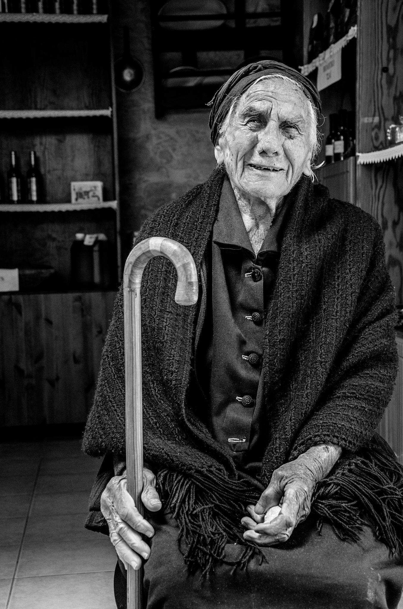 centuries old woman by marokkyprianou