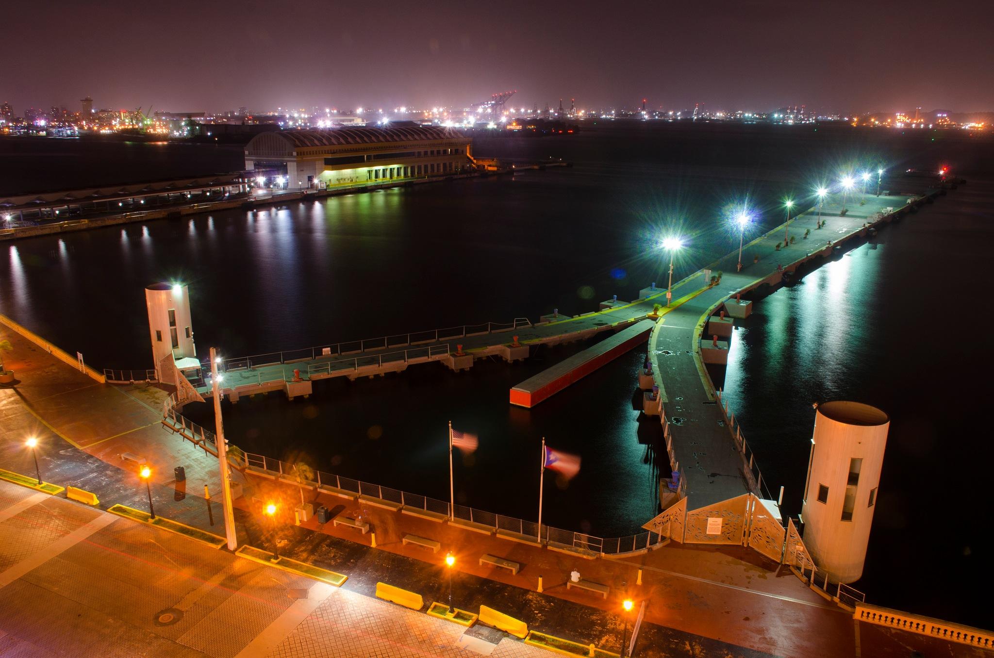 Gangway by night by marokkyprianou