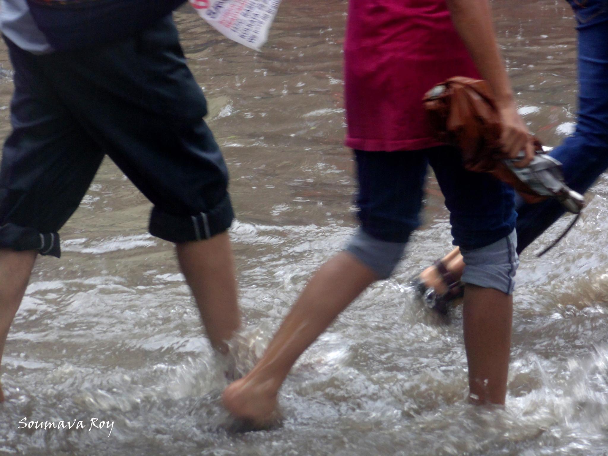 Street Flooding by soumavaroy56