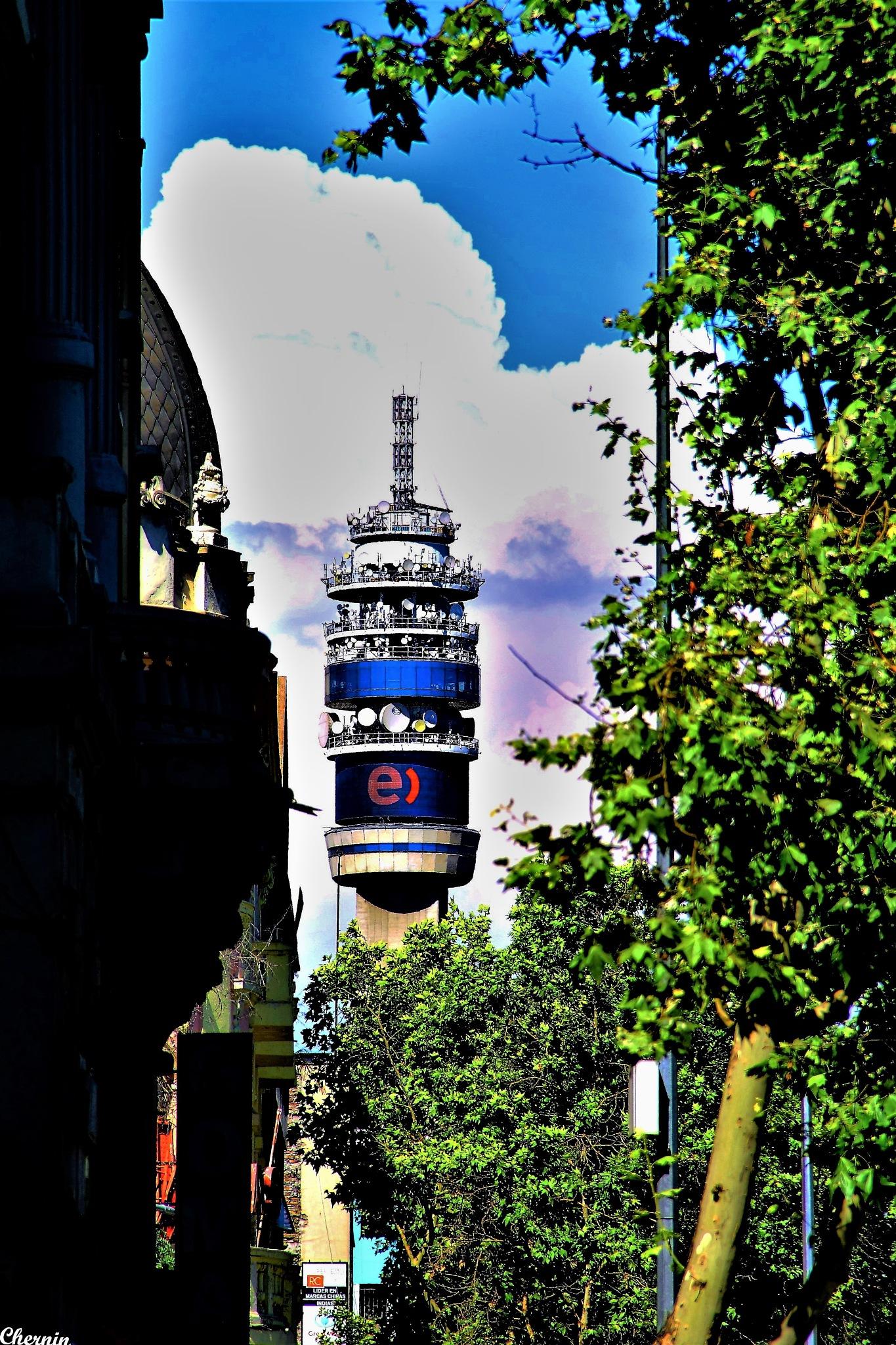 entel tower by ichernin