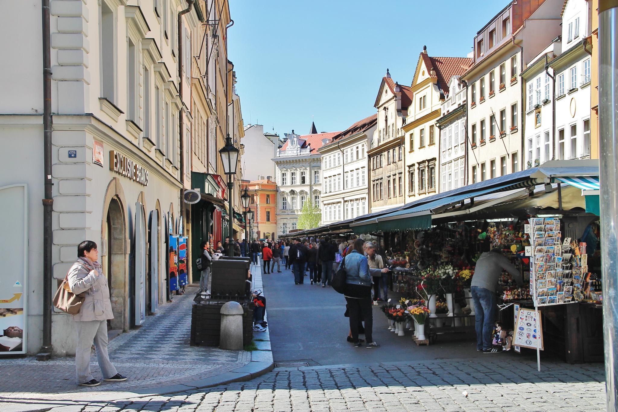 street fair in prague by ichernin