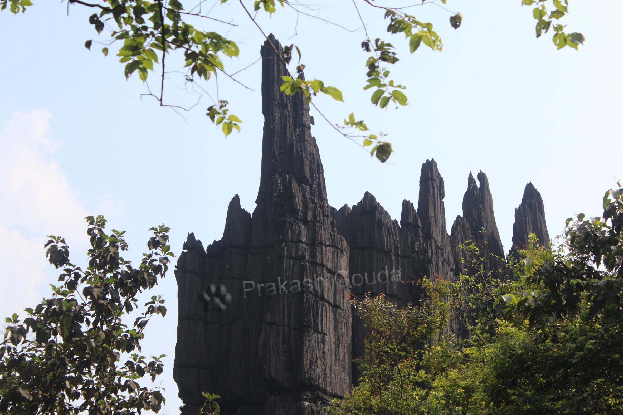 Lime Stone Hill, Look Like Churches (Mohini shikara) · Yana by PrakashGouda