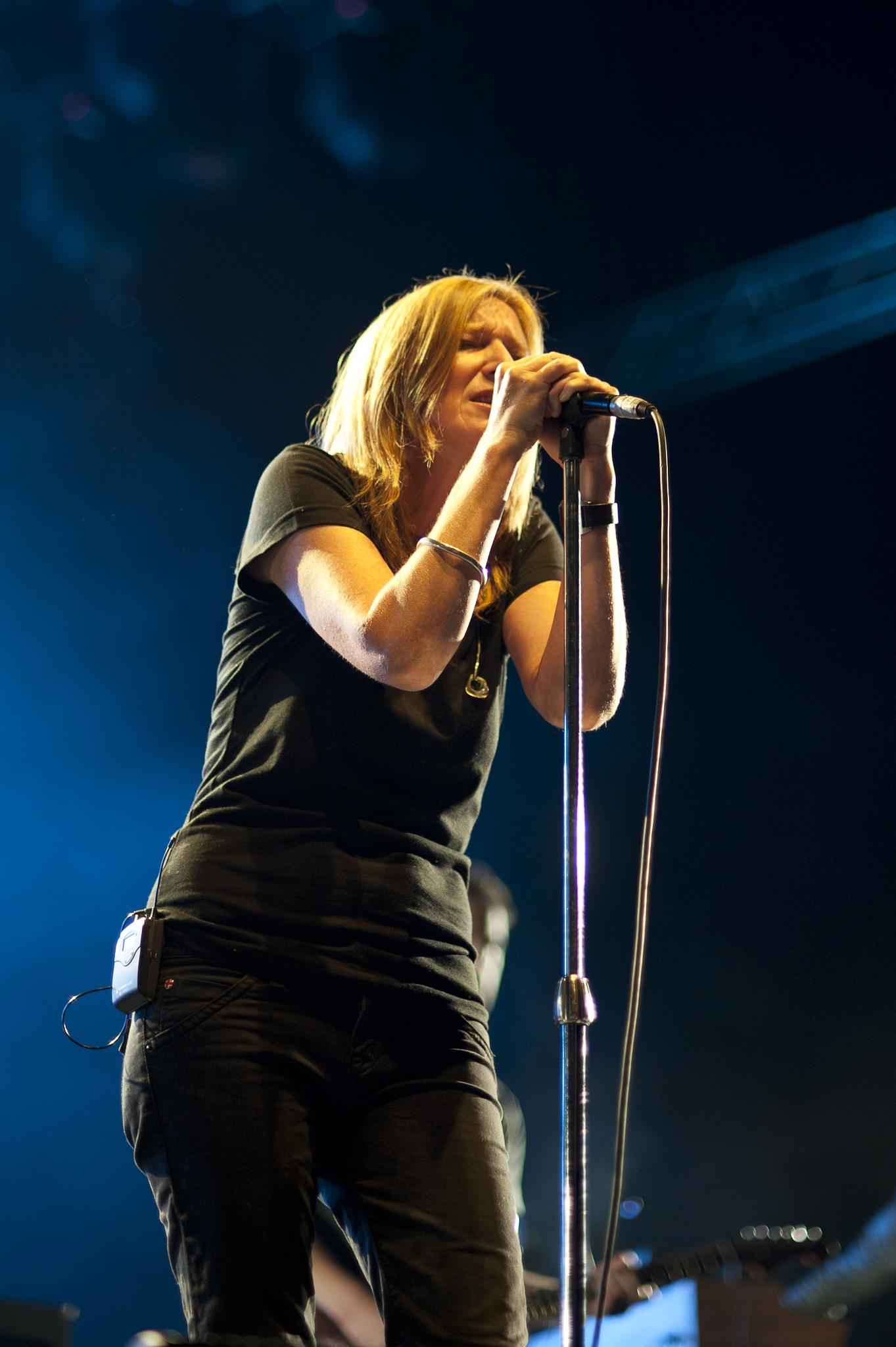 Photo in Concert #atp #portishead #beth gibbons #all tomorrow's parties #ibym #i'll be your mirror #alexandra palace