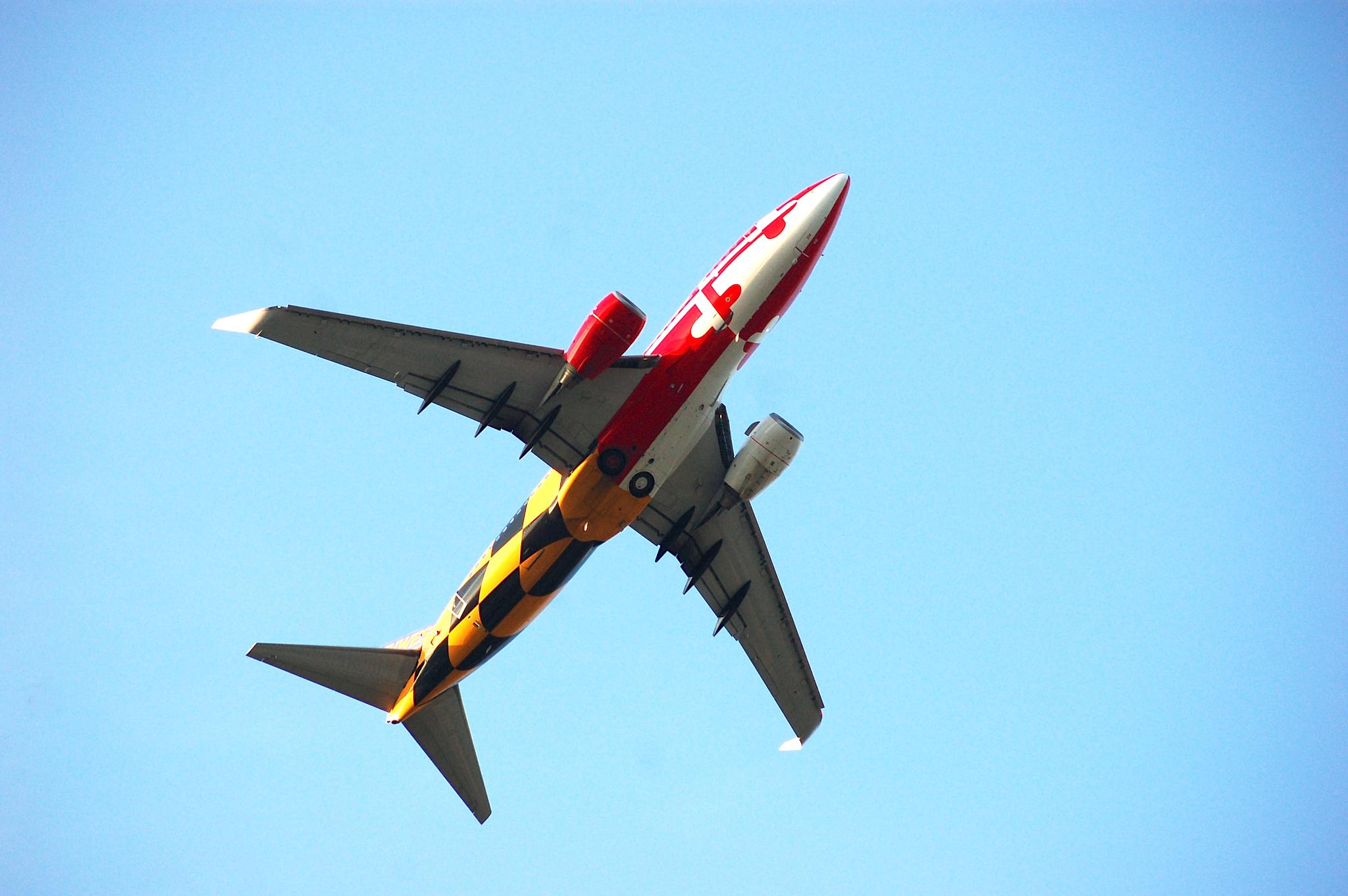 airplane by Deborah J. Moore