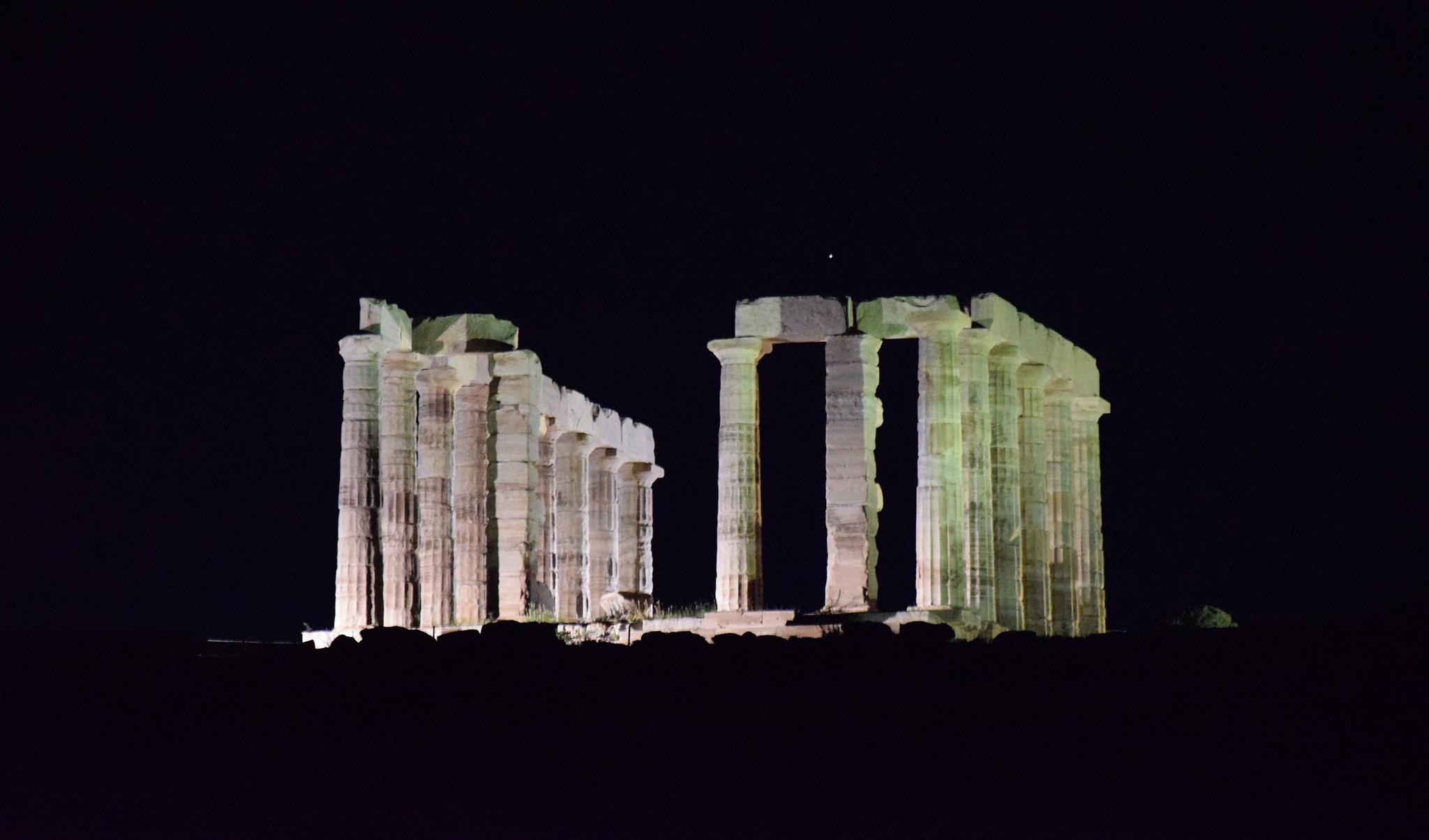 Photo in Architecture #poseidon #temple #ancient #greece #marbles