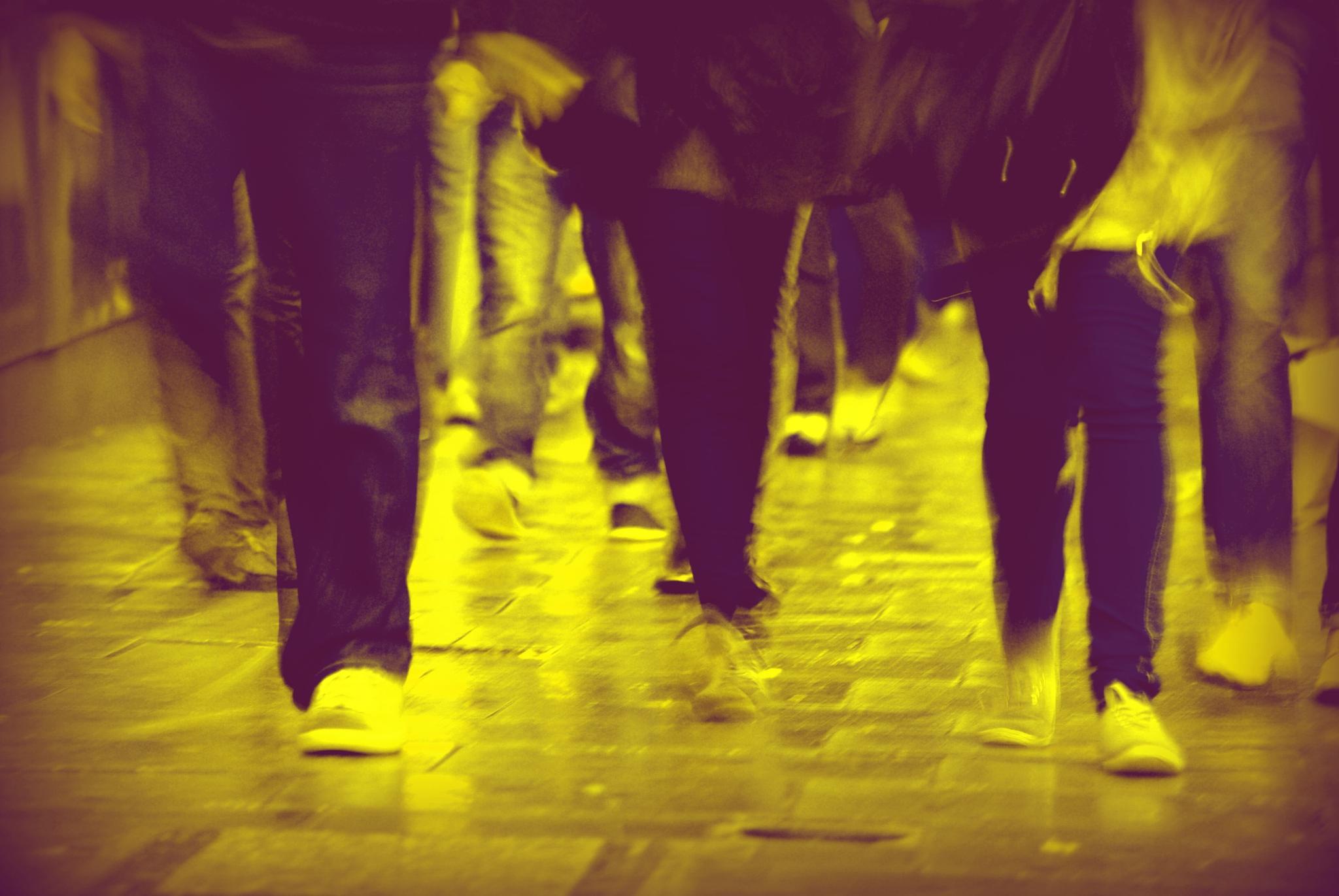 The Walk of London by Kelly-Ann Davies