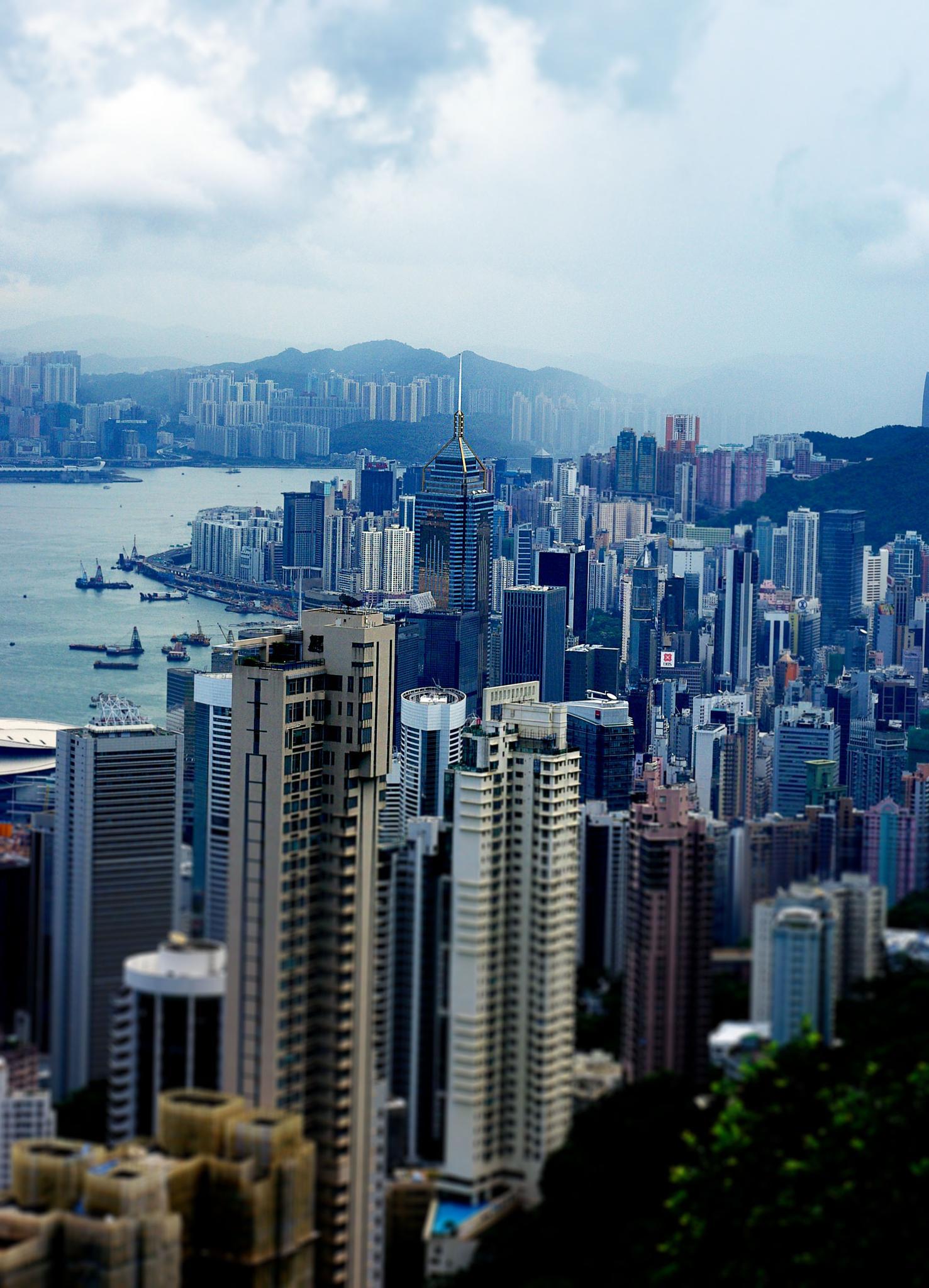 View of Hong Kong by Kelly-Ann Davies