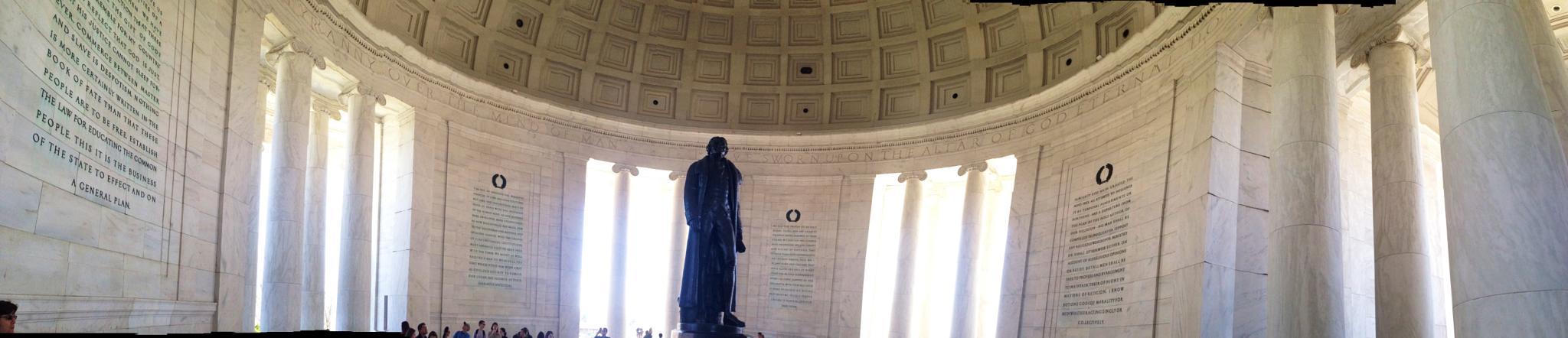 Thomas Jefferson Memorial  by RockyTopSkiBum
