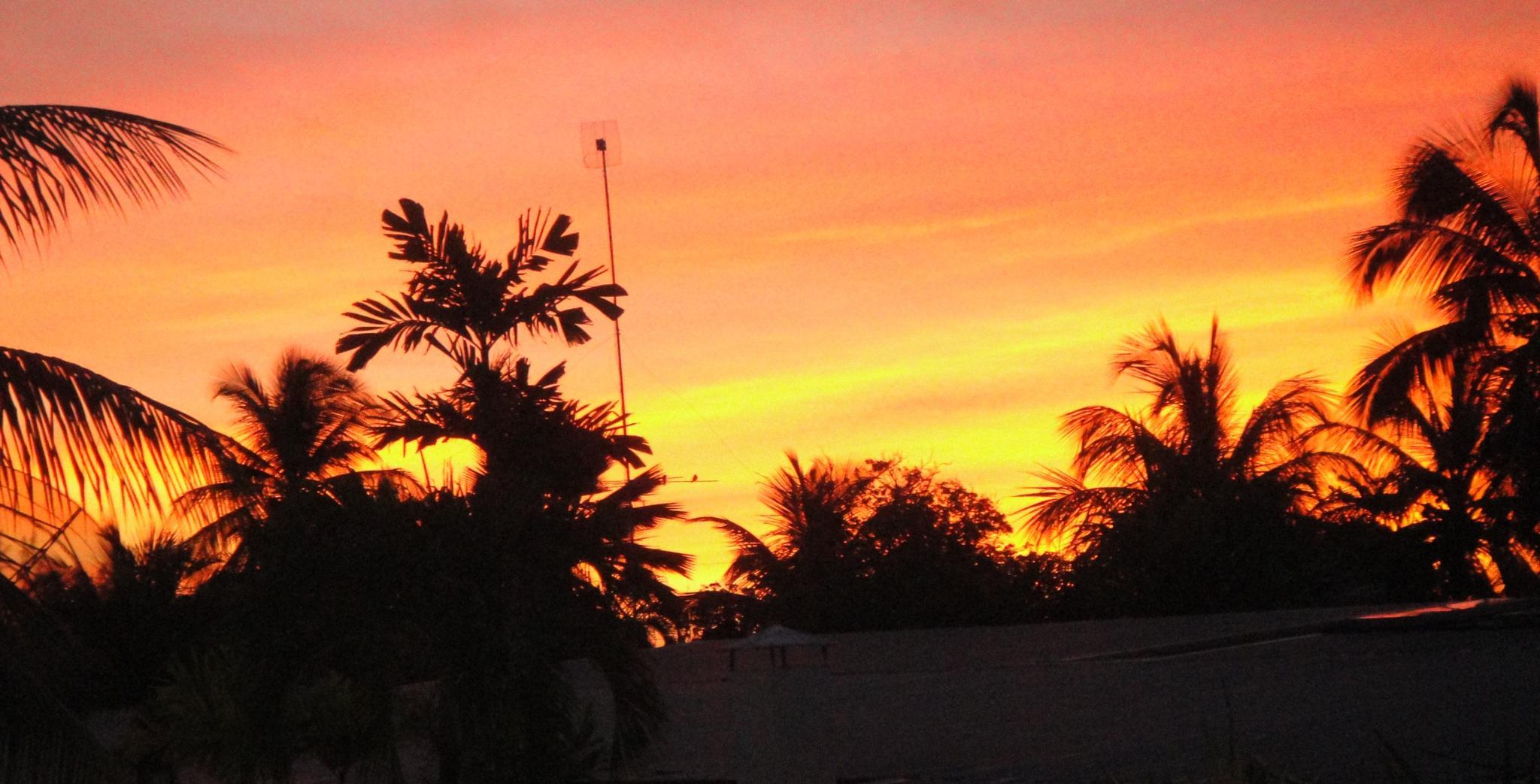 Bajan Sunset by MissXavierBurgess
