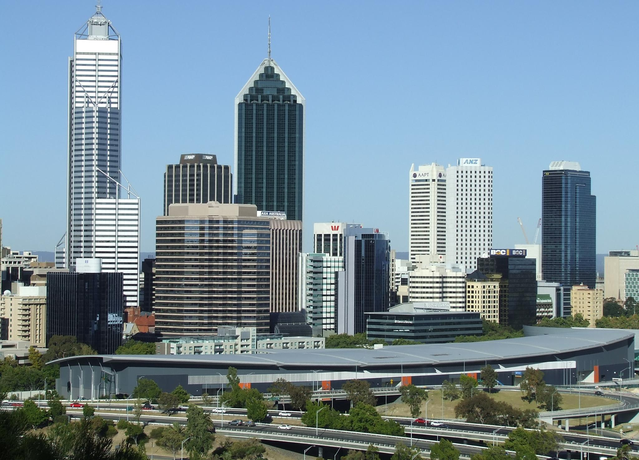 Perth Cityscape from Kings Park, Western Australia by Zoid359WA