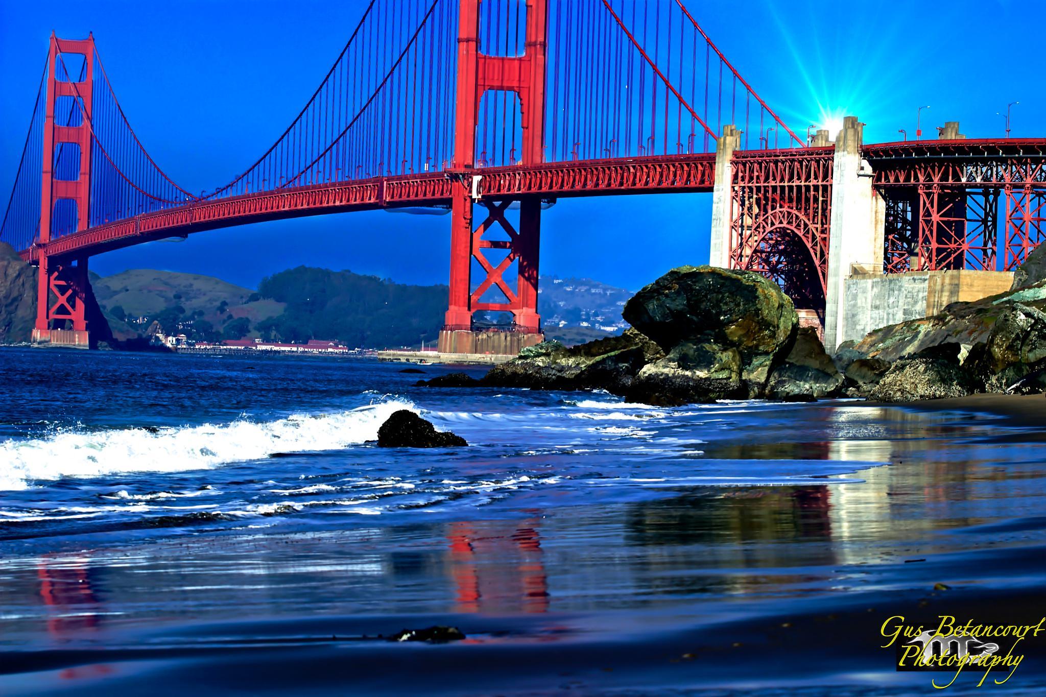 Golden Gate Bridge view.. by gusbetancourt3