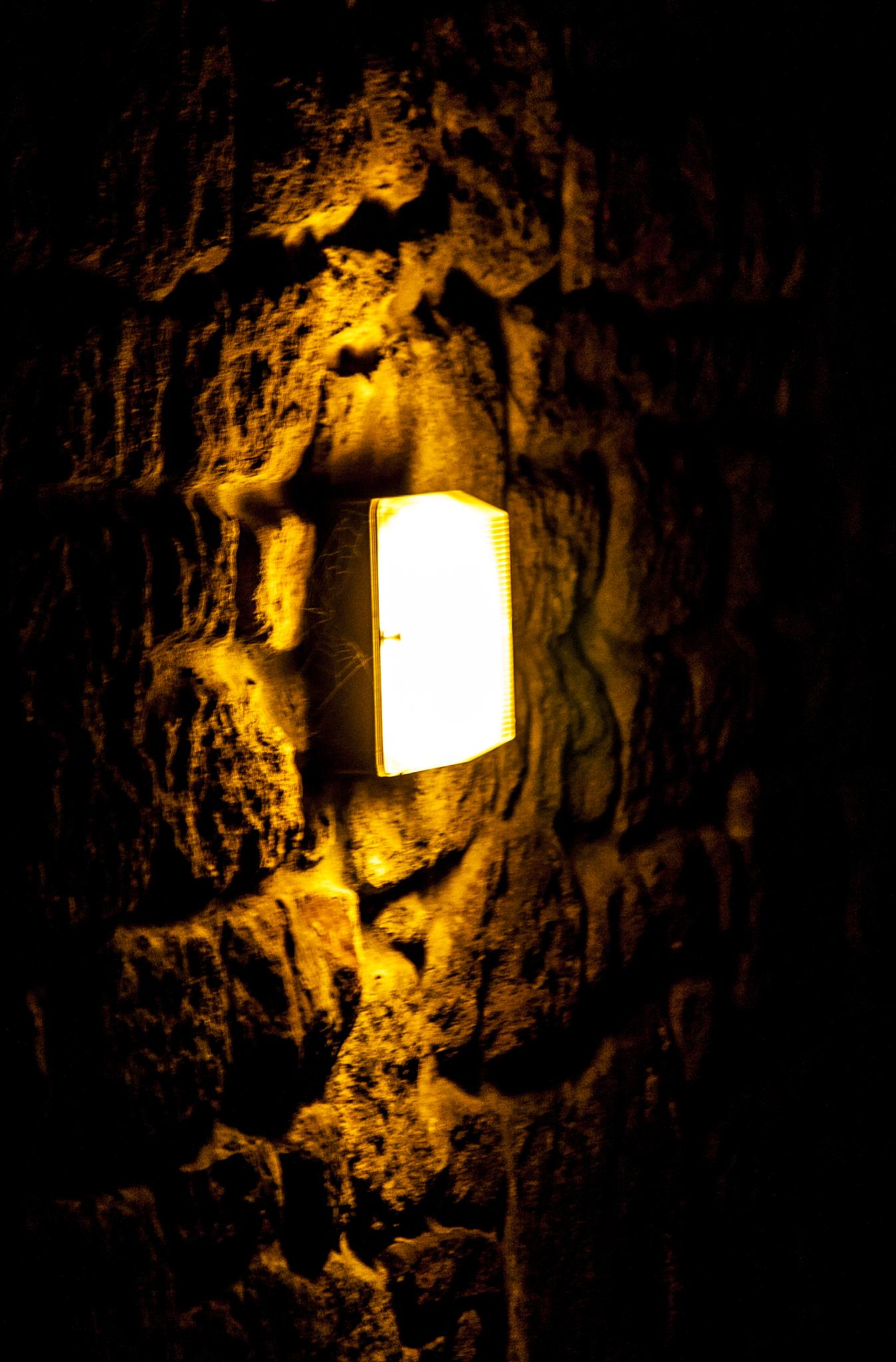 Stone Walled Again, but I see the Light... by Robbie Clark Photographics