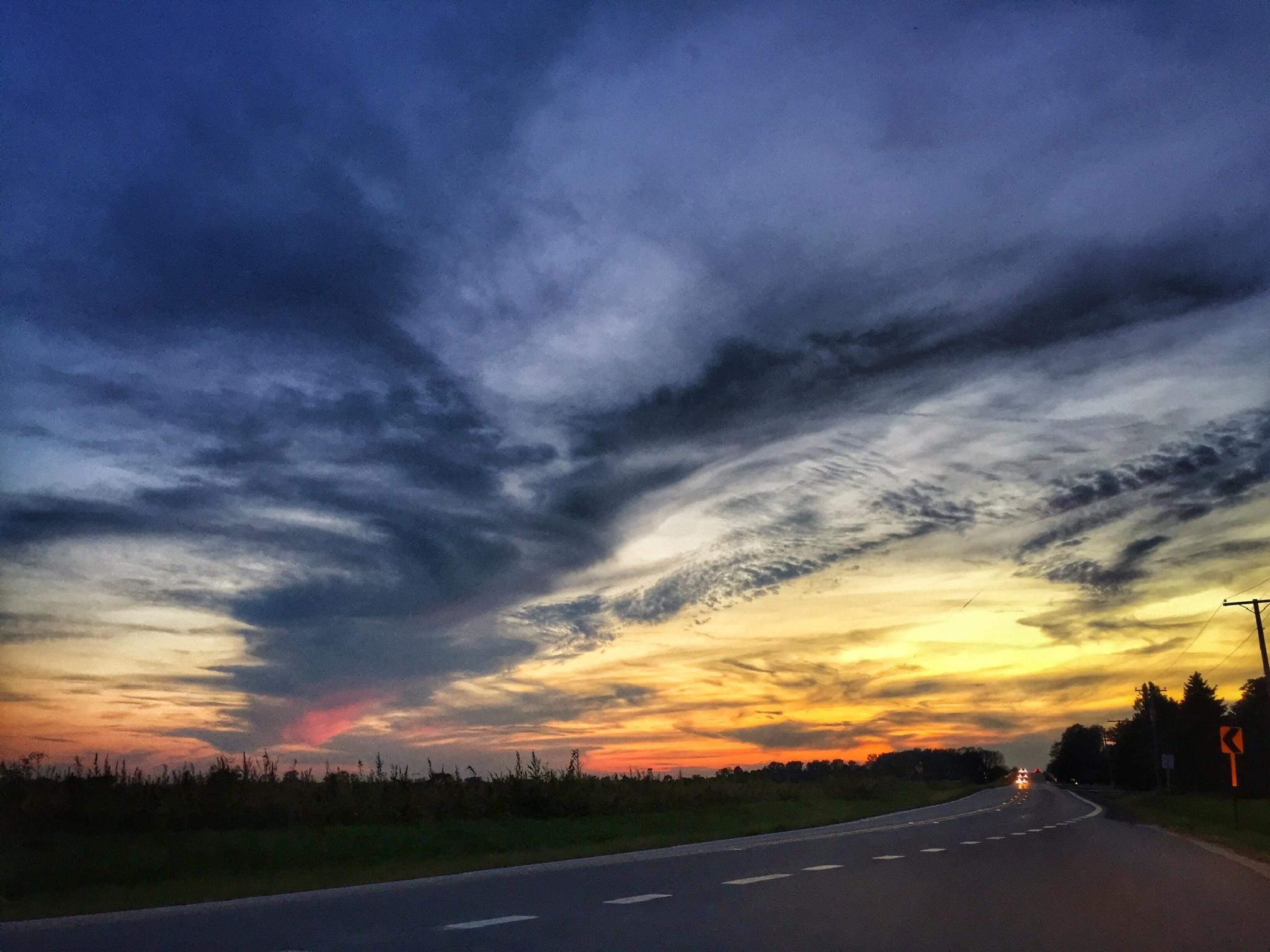 Sunset Sky by rickferris