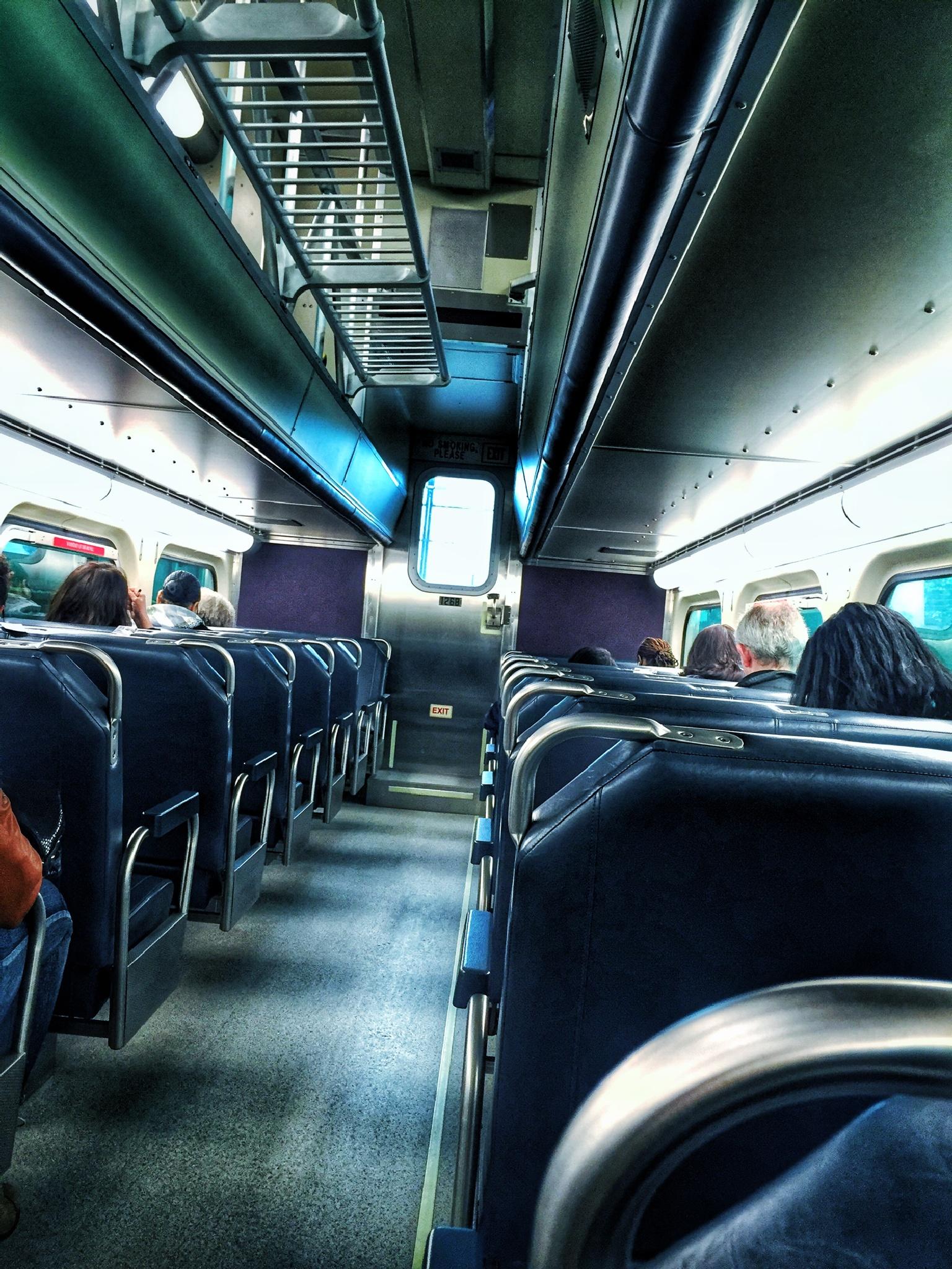 Commuting Blues by rickferris
