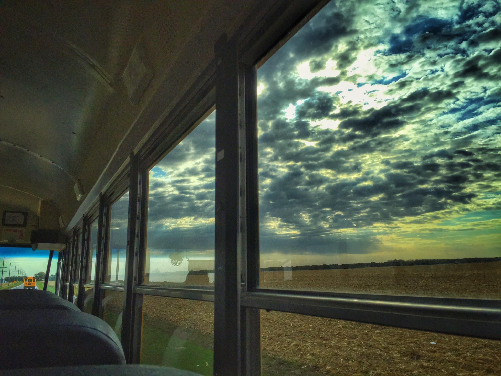 Memories of a Bus Ride by rickferris