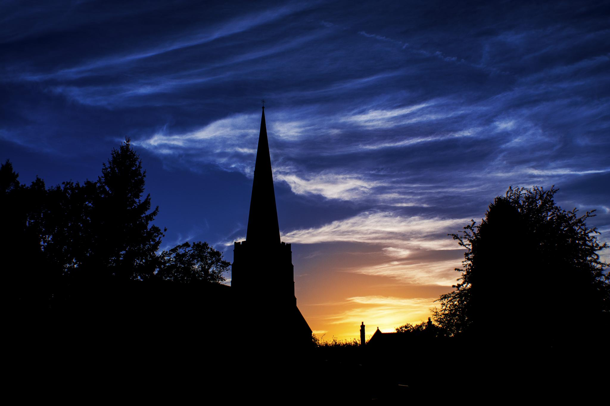 Church silhouette  by ILoveThatPhoto.co.uk