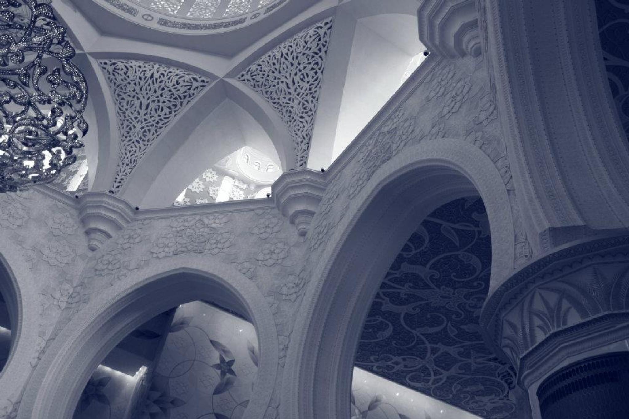 Sheikh Zayed Mosque Walls by alamaude