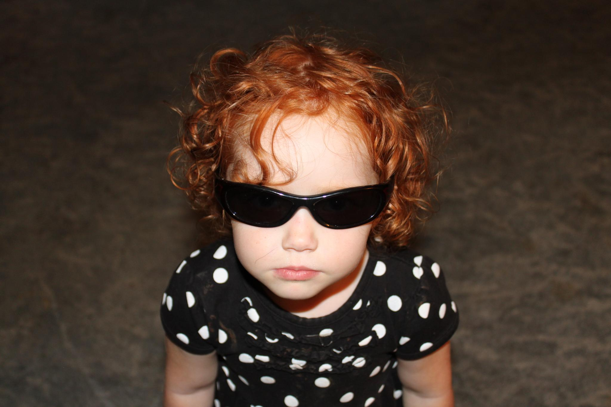 You Can't See What I'm Thinking Behind These Sunglasses by Kindra Schuler