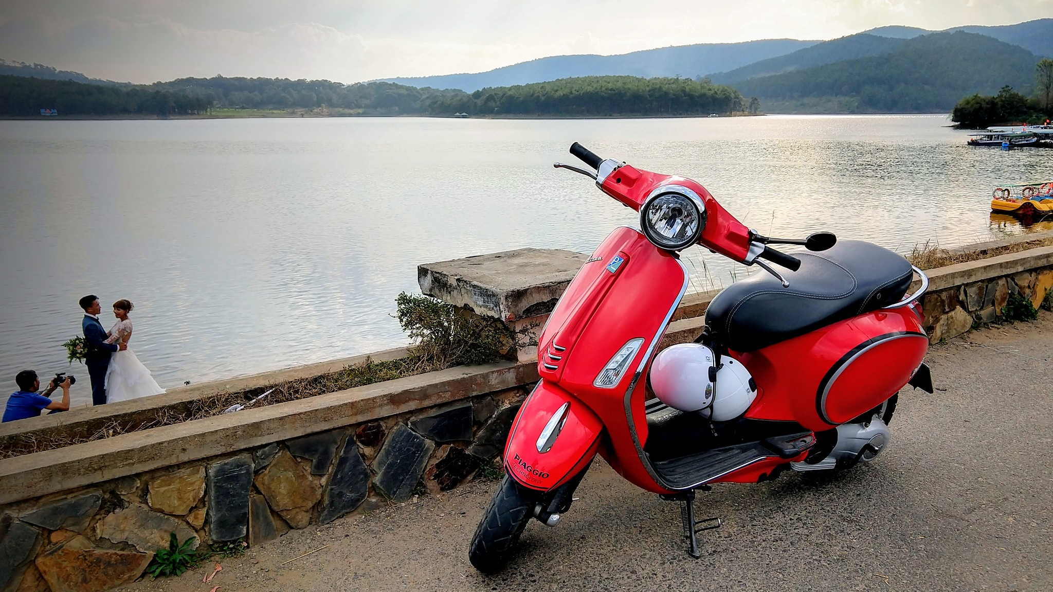 The red moped by Tom P.