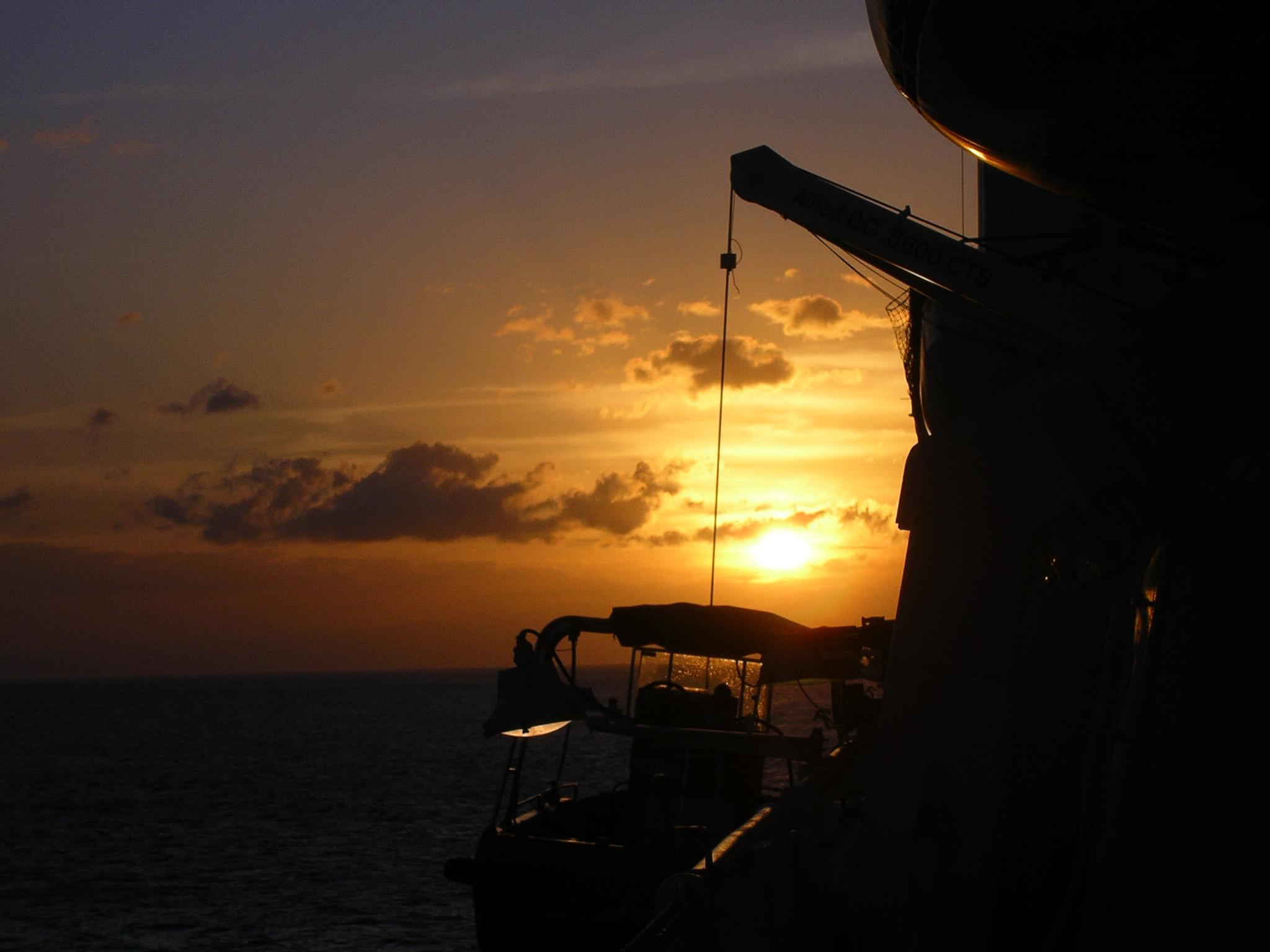 Sunset in the South China Sea by deanna.polk
