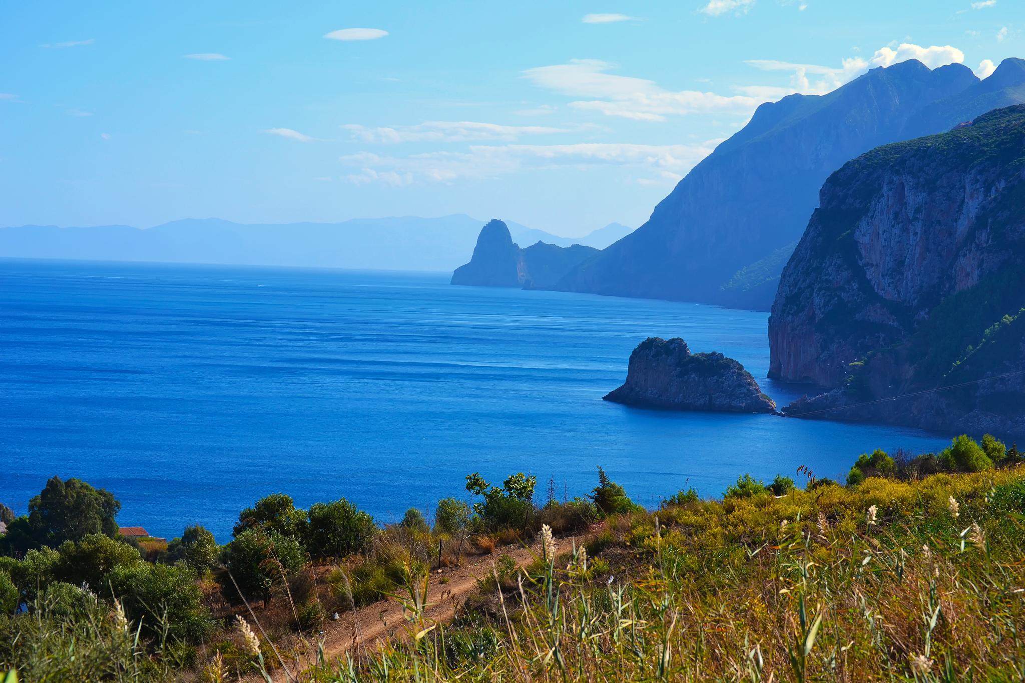 Kabyle coast by yaya