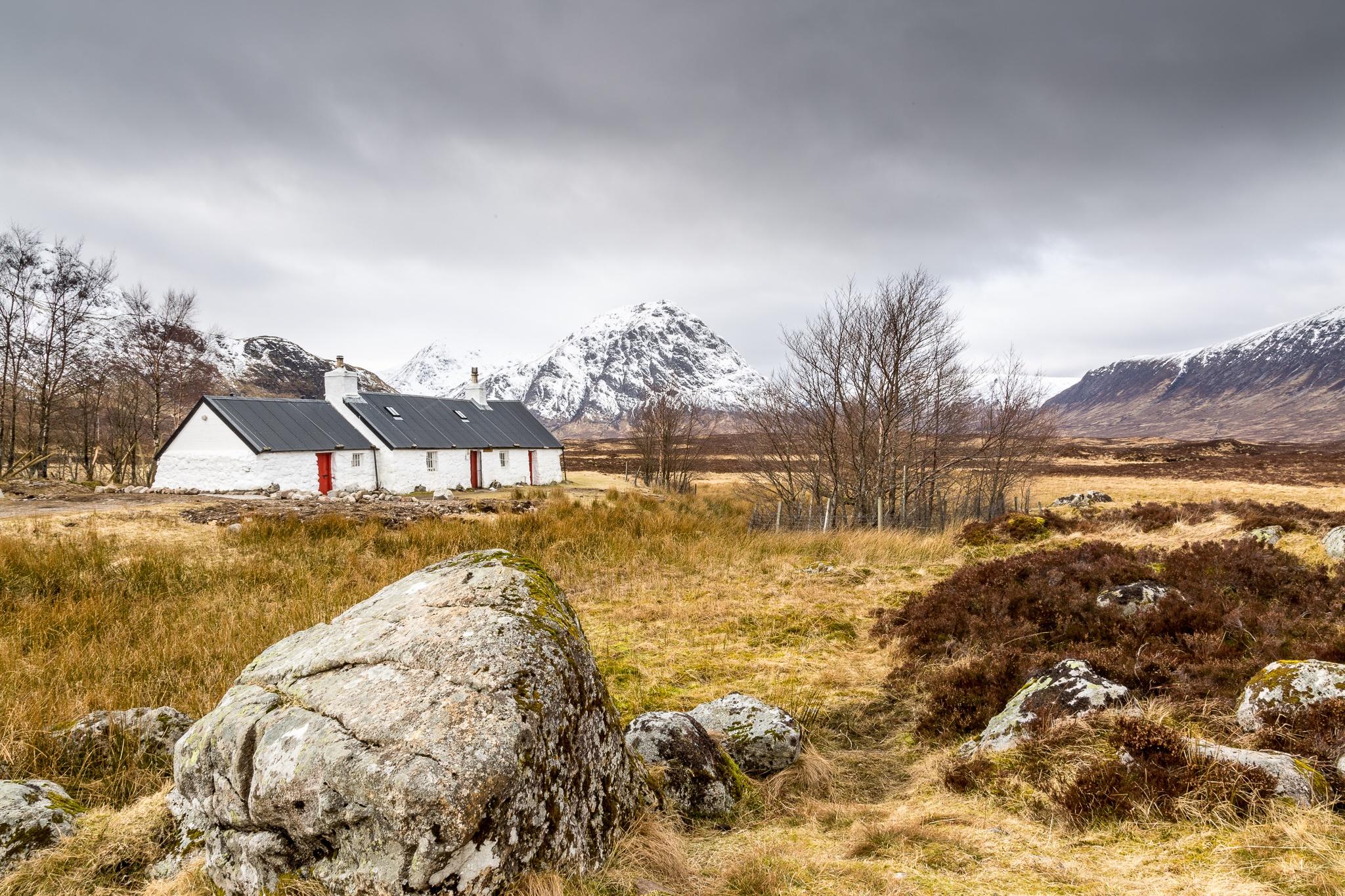 Blackrock Cottage, Glencoe by Bruce MacLennan