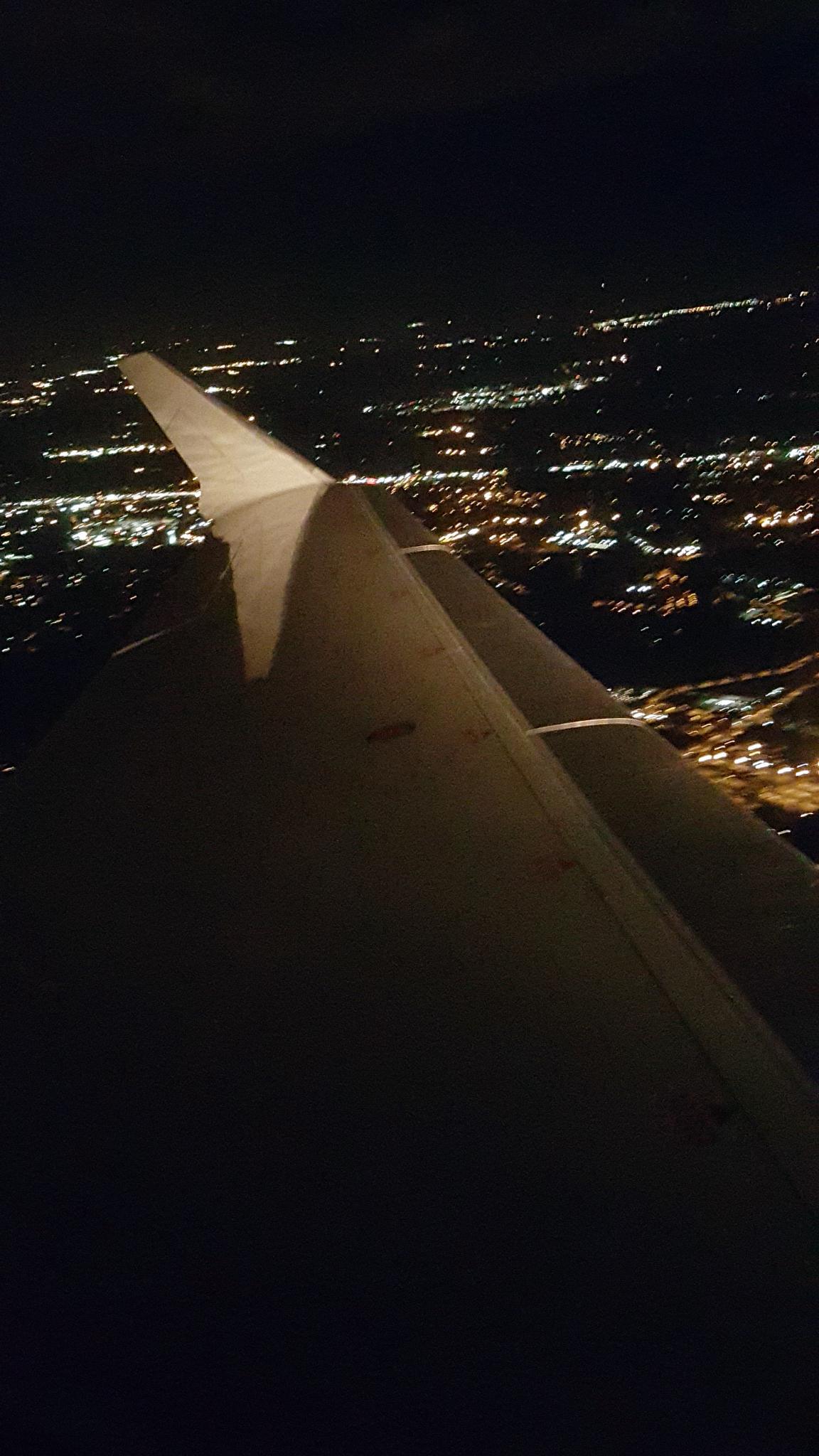 Photo in Cityscape #travel #plane #city