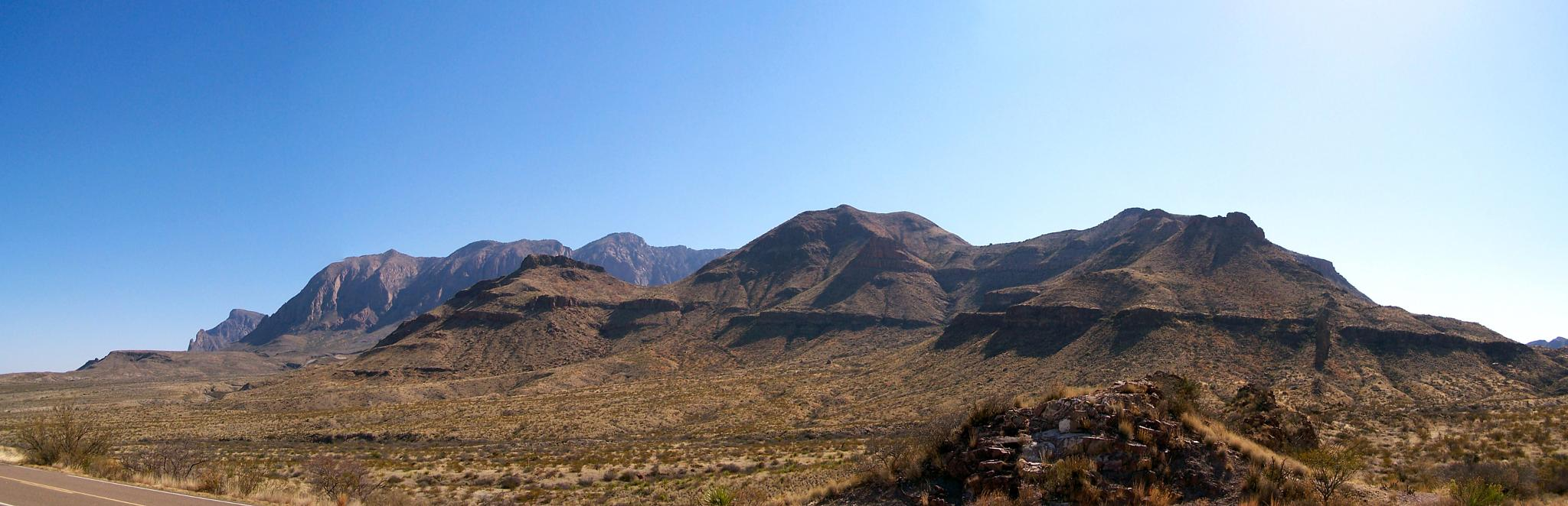 Big Bend National Park, Texas by Ozroo