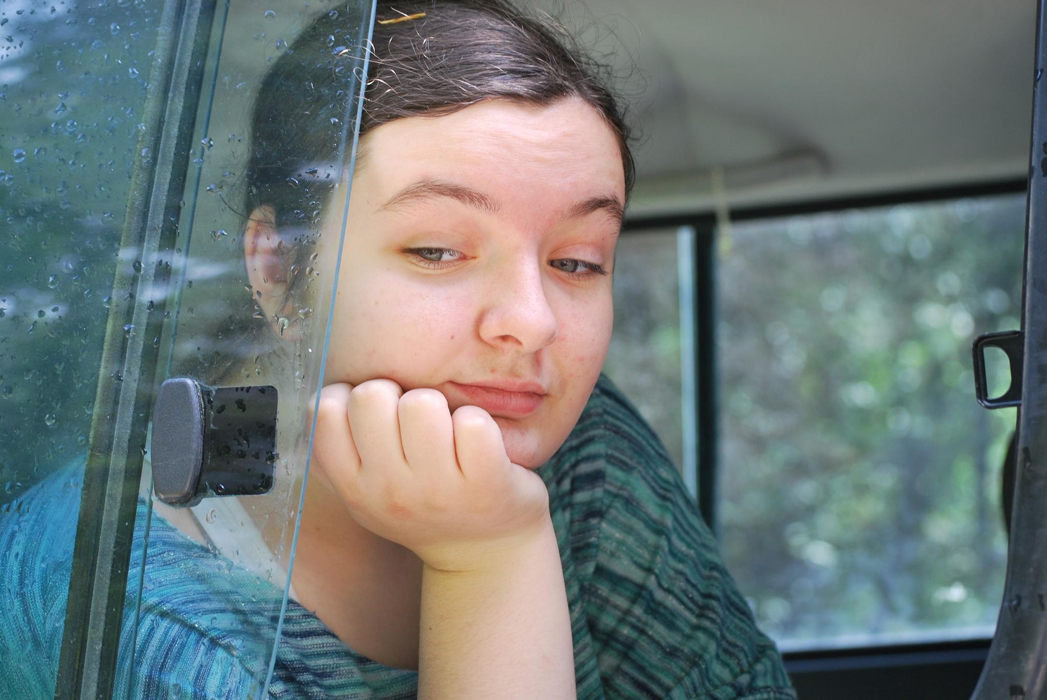 Noelle, day dreamer by marilyn Simkin