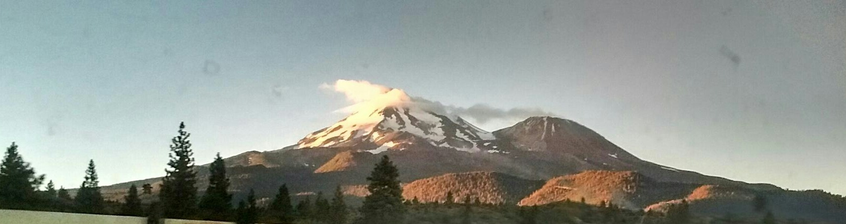 Mt. Shasta by marilyn wirtz