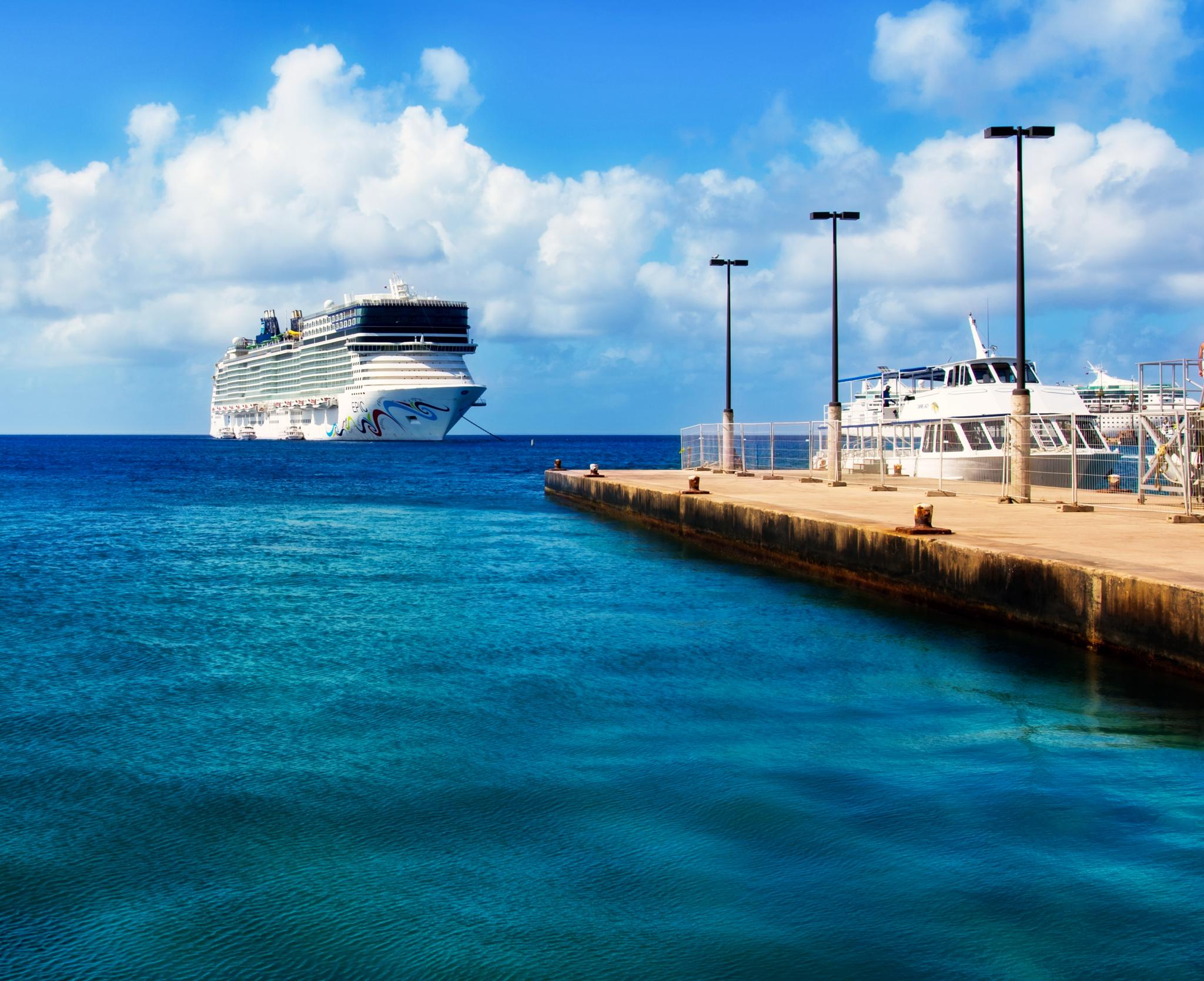 Cruising the Caribbean!  by mtmoodyphotography