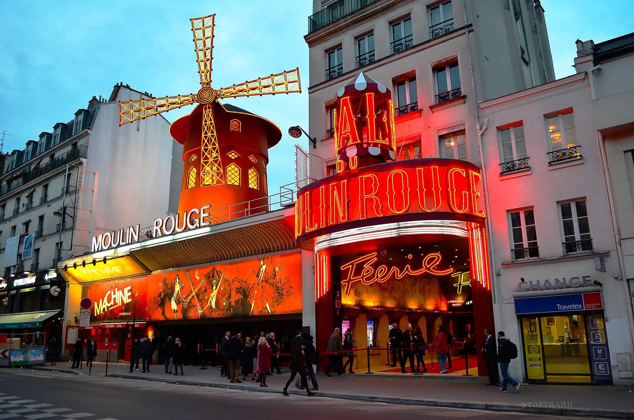 Moulin Rouge, Paris by TOFTGARD