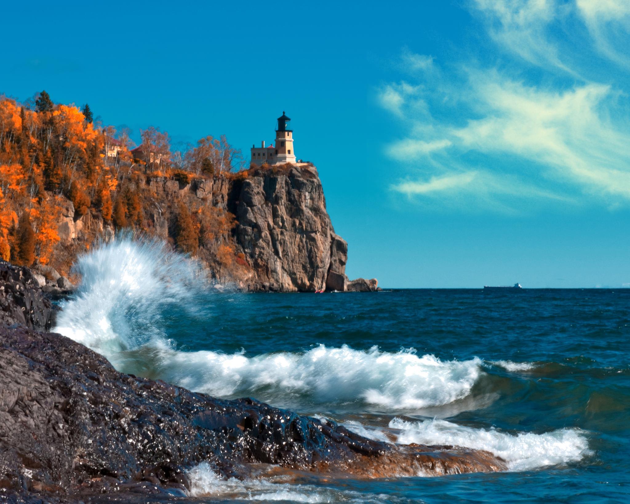 Split Rock Lighthouse by Todd Edson