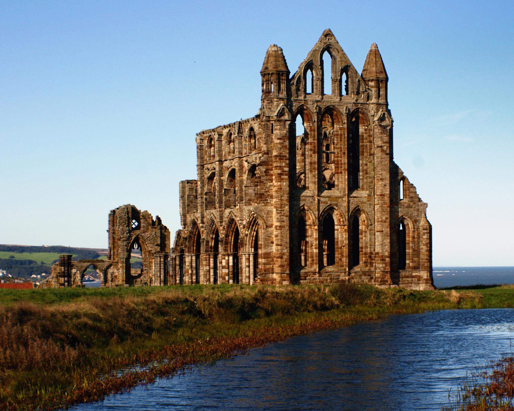 Whitby Abbey by Todd Edson
