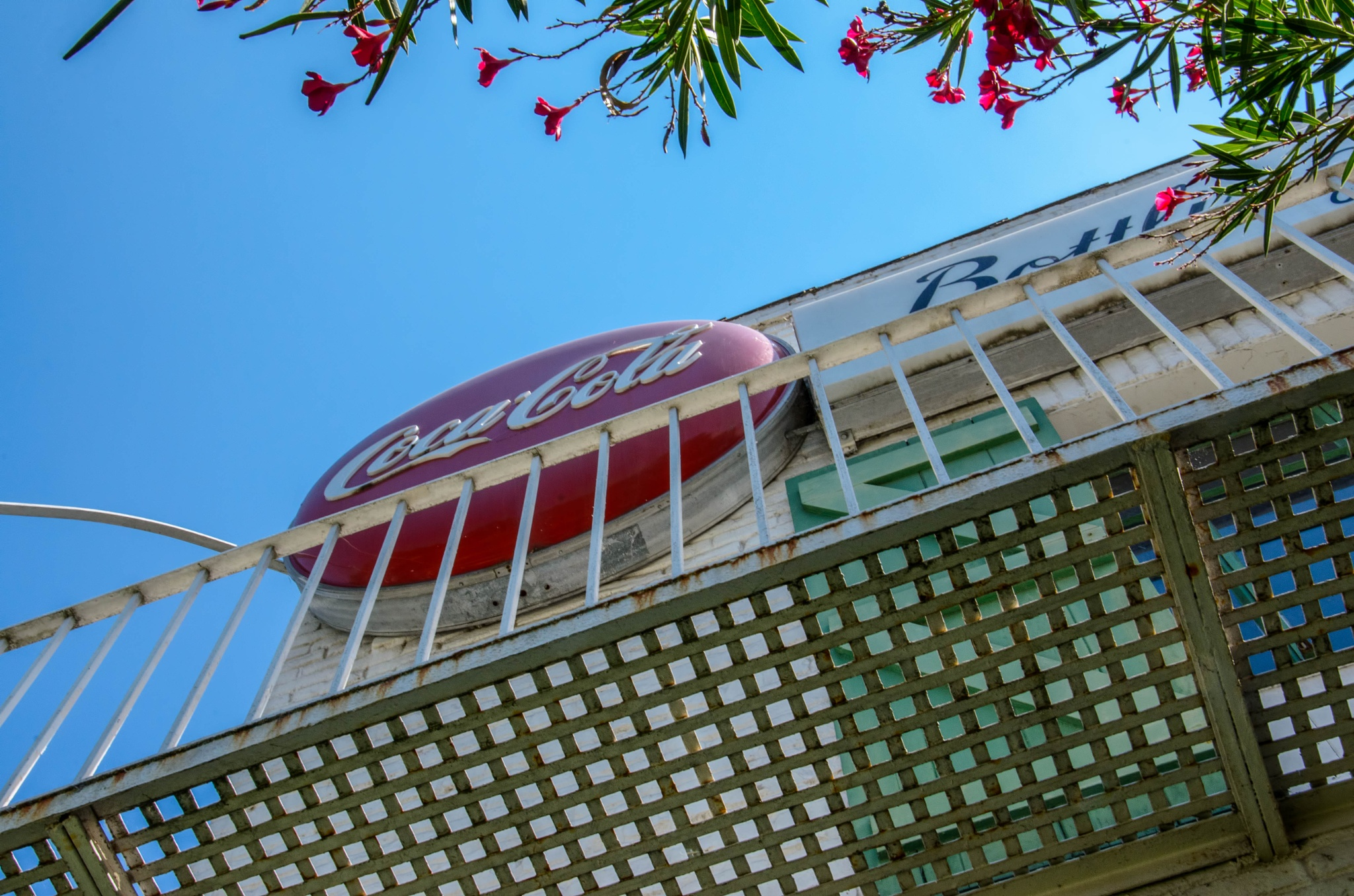 Coca Cola Sign by Available Light Photography