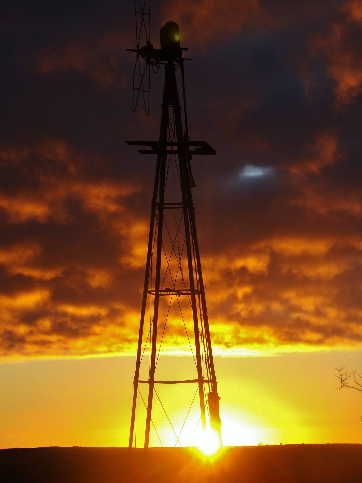 sunrise in Sask by Rhyland Cottingham
