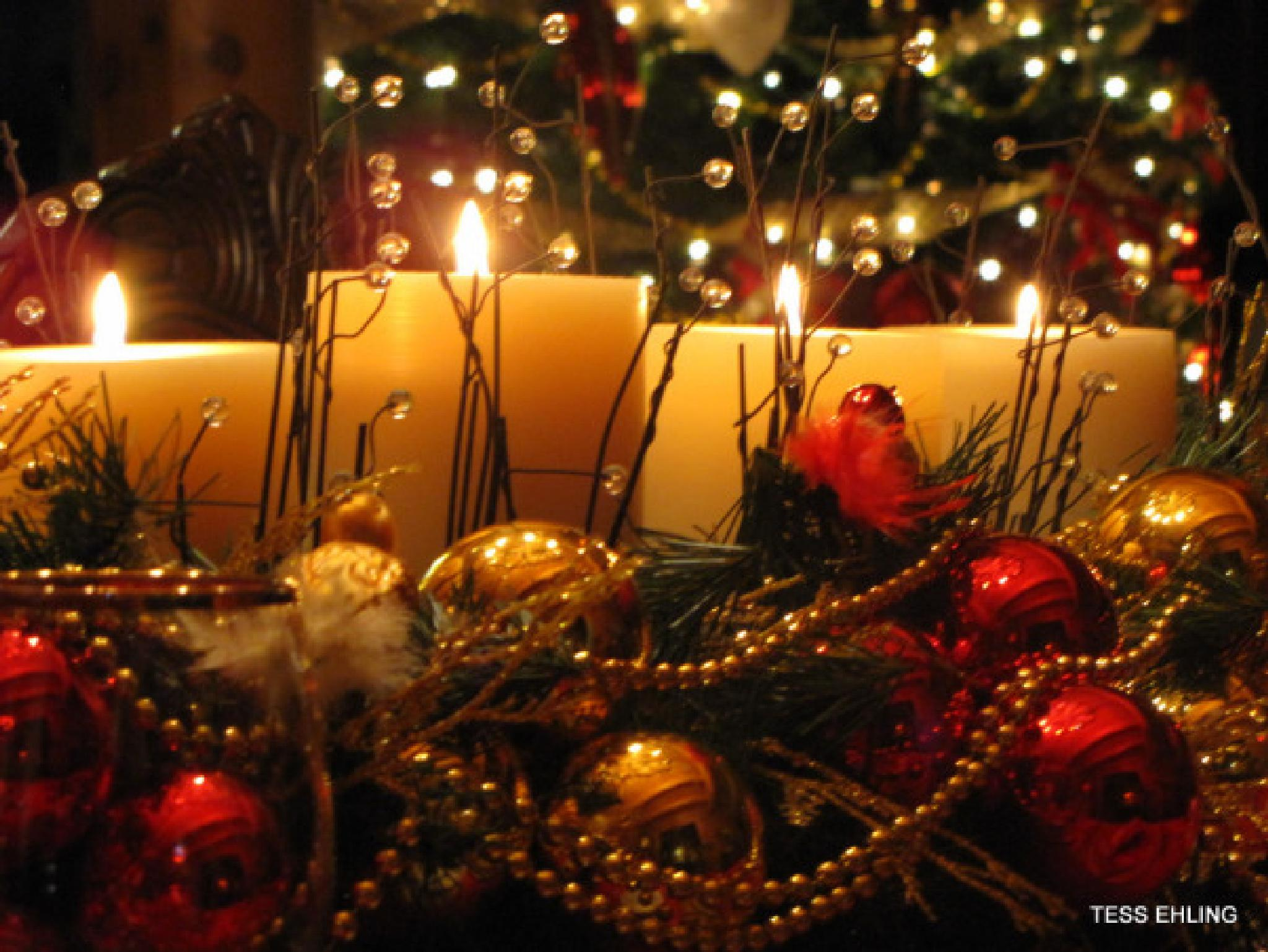 Christmas Centerpiece  by teresa.ehling
