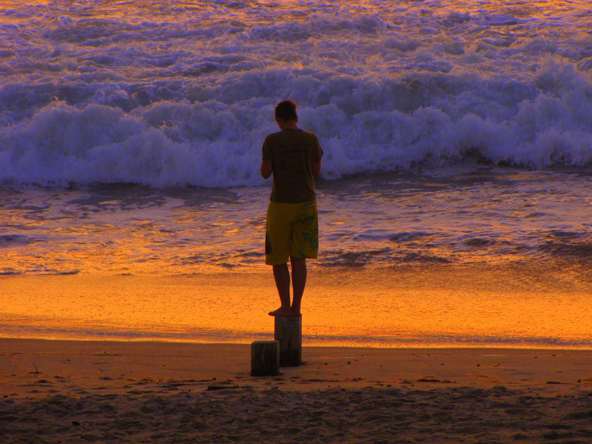 Random guy on Mirlo Beach by teresa.ehling