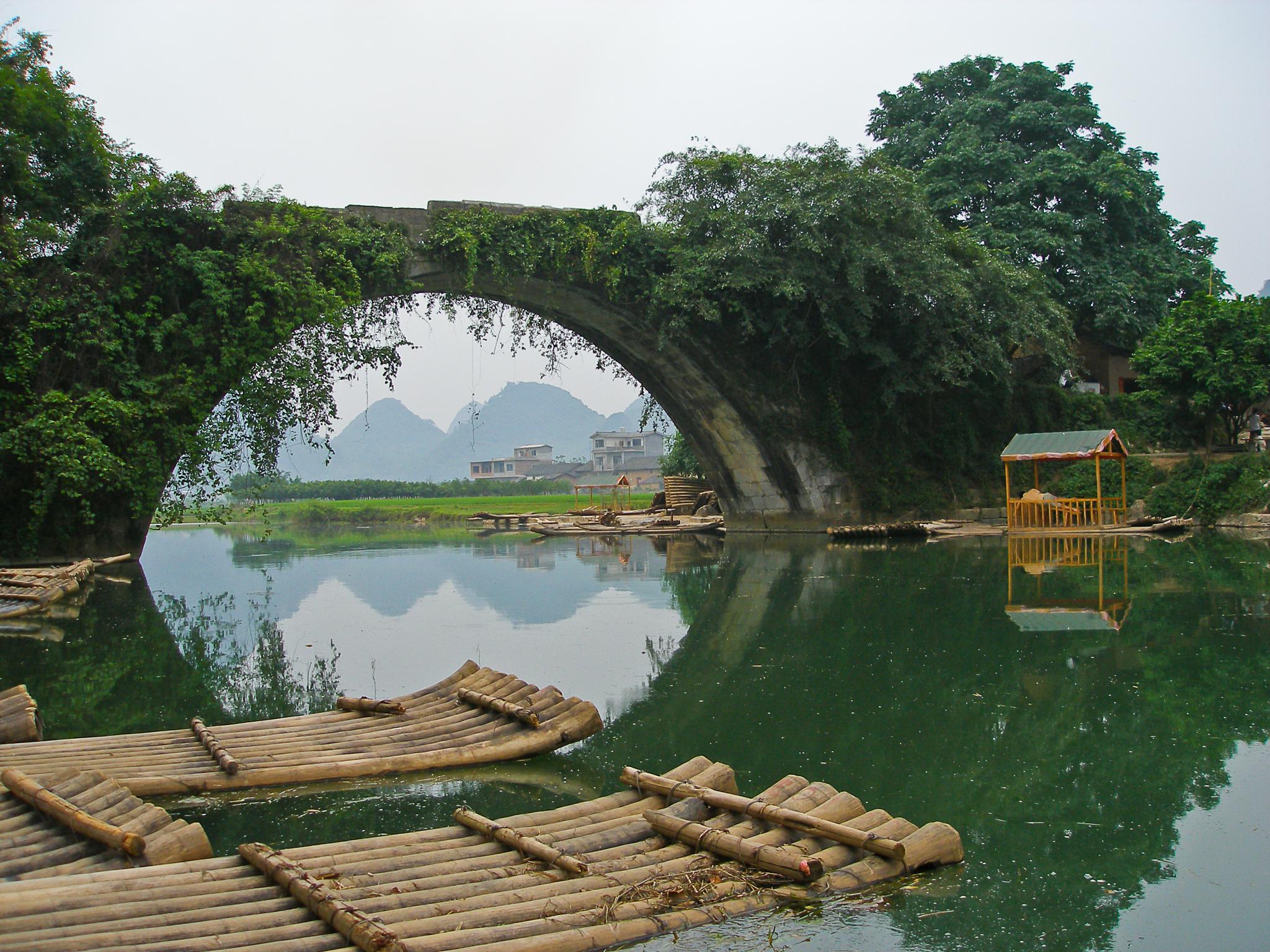 Yu Long Bridge by Carl Scott