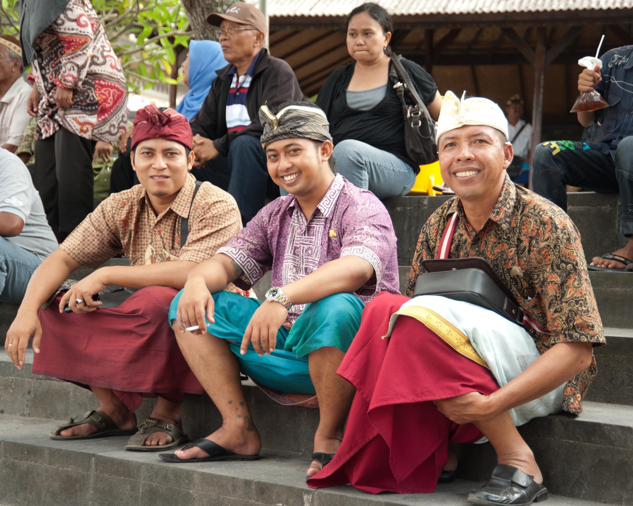 Balinese Trio by Carl Scott