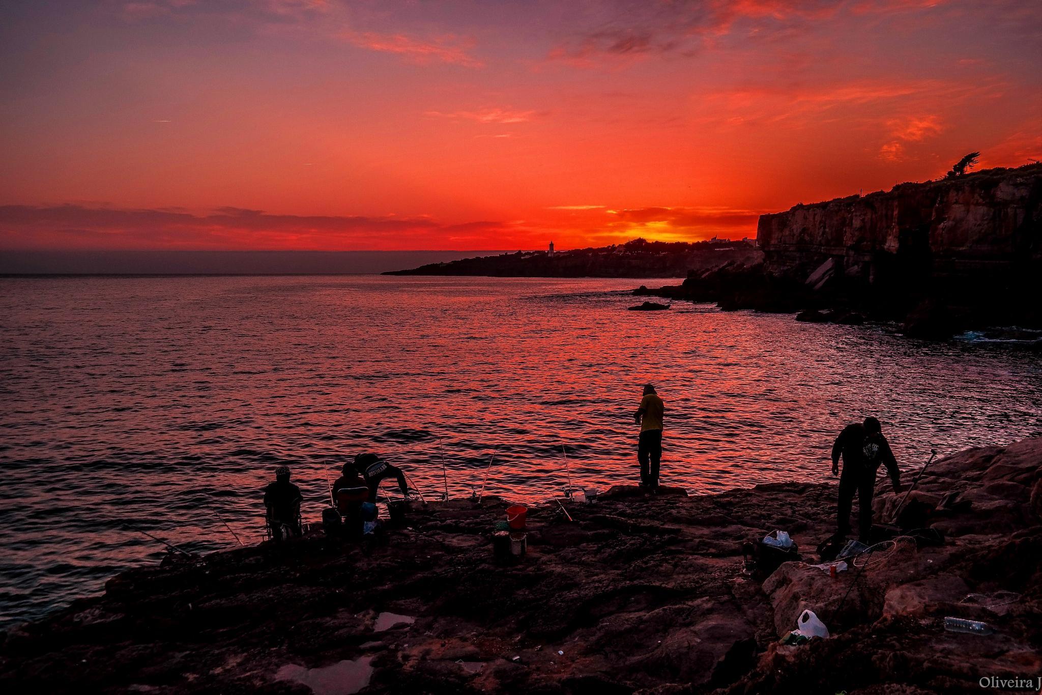 FISHERMEN AT SUNSET by joseoliveira1694