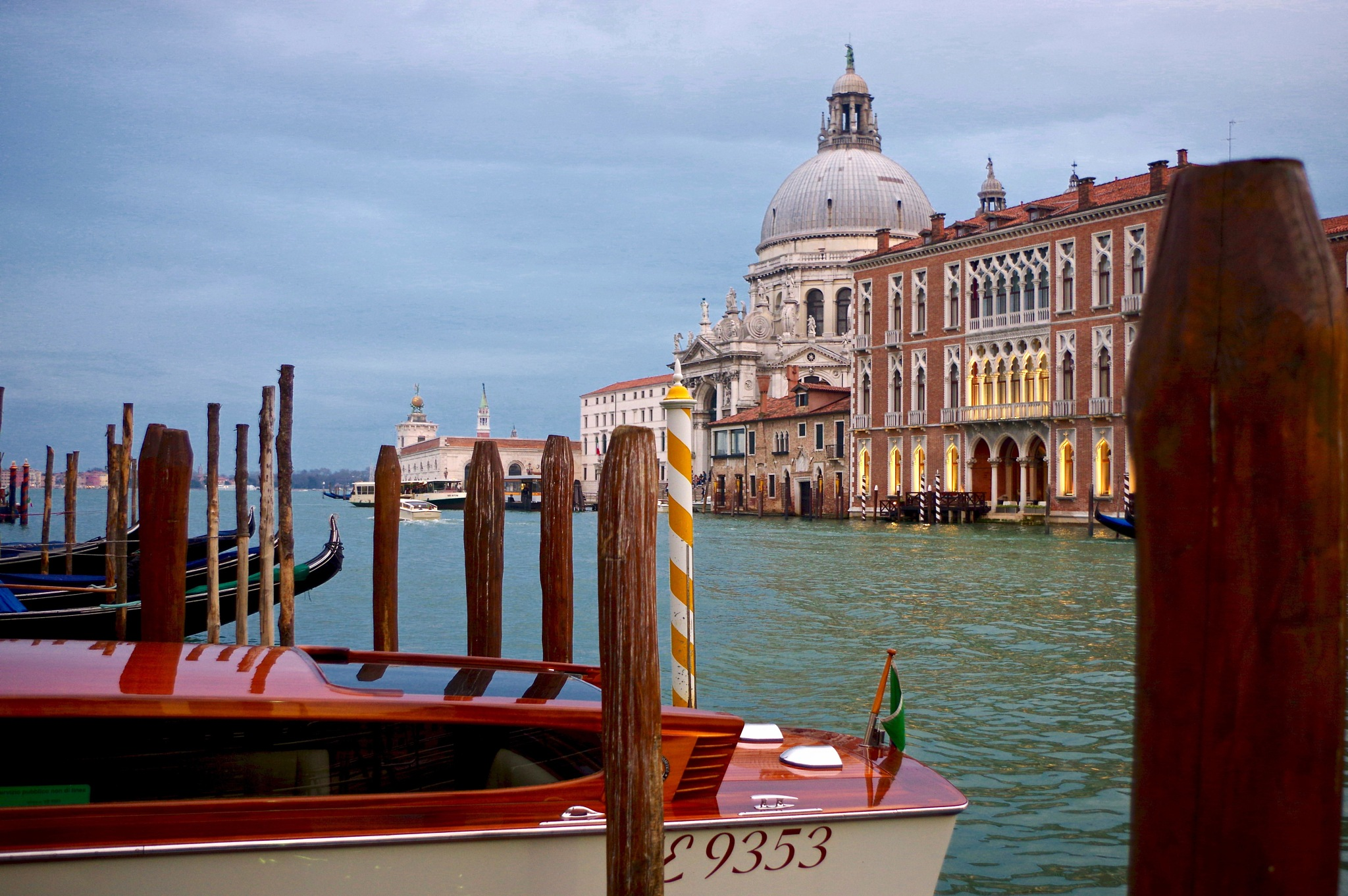 Canal Grande at Dusk by LoryC